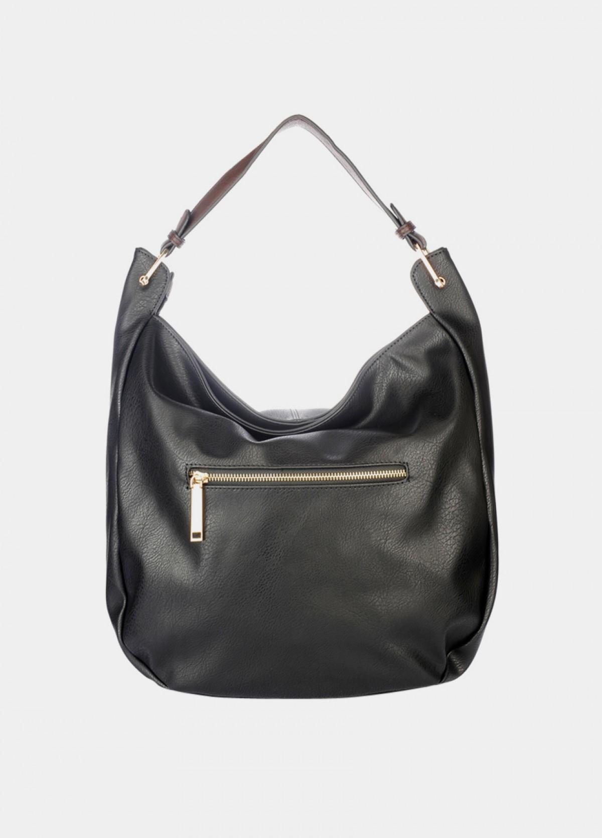 The Black Hobo Handbag