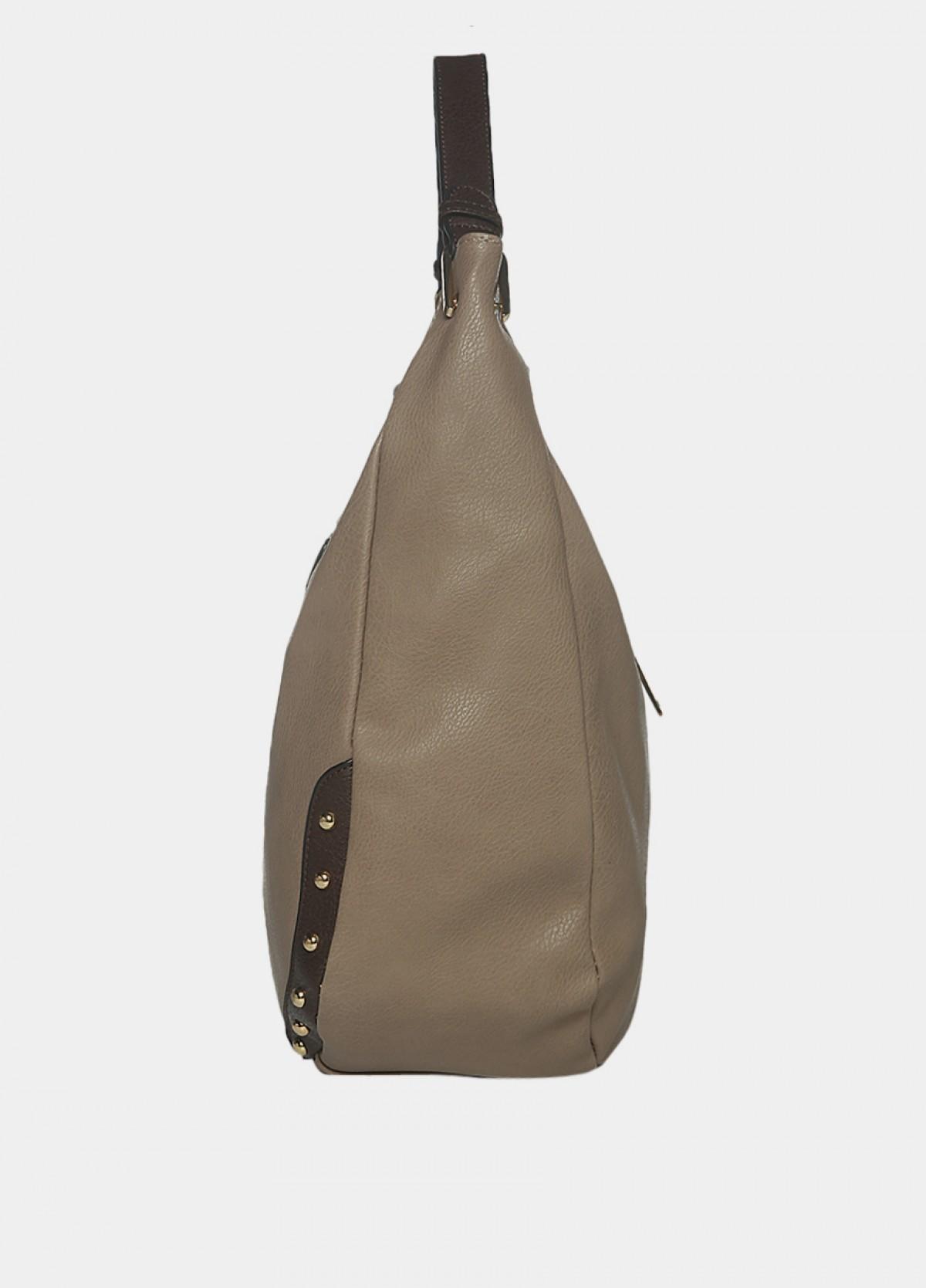 The Taupe Hobo Handbag