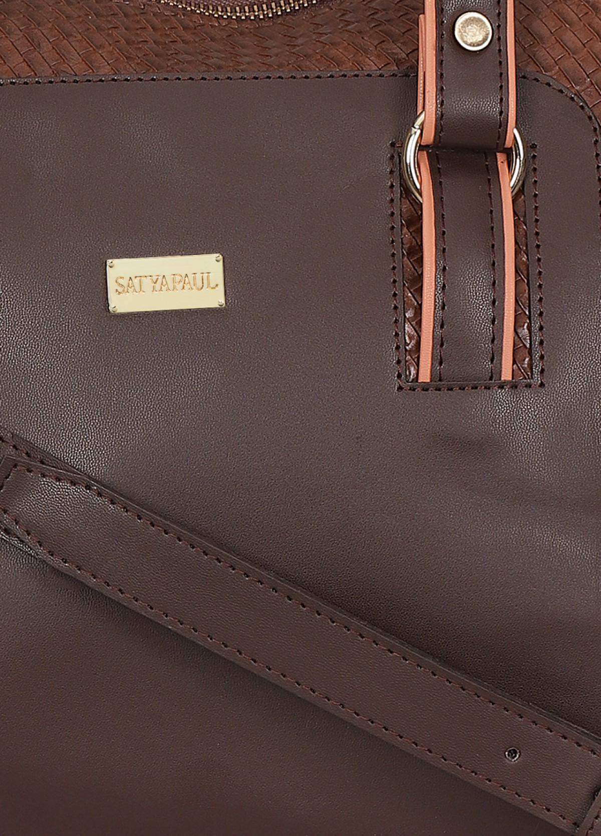 The Satyapaul Women Fashion Brown Hand Bag