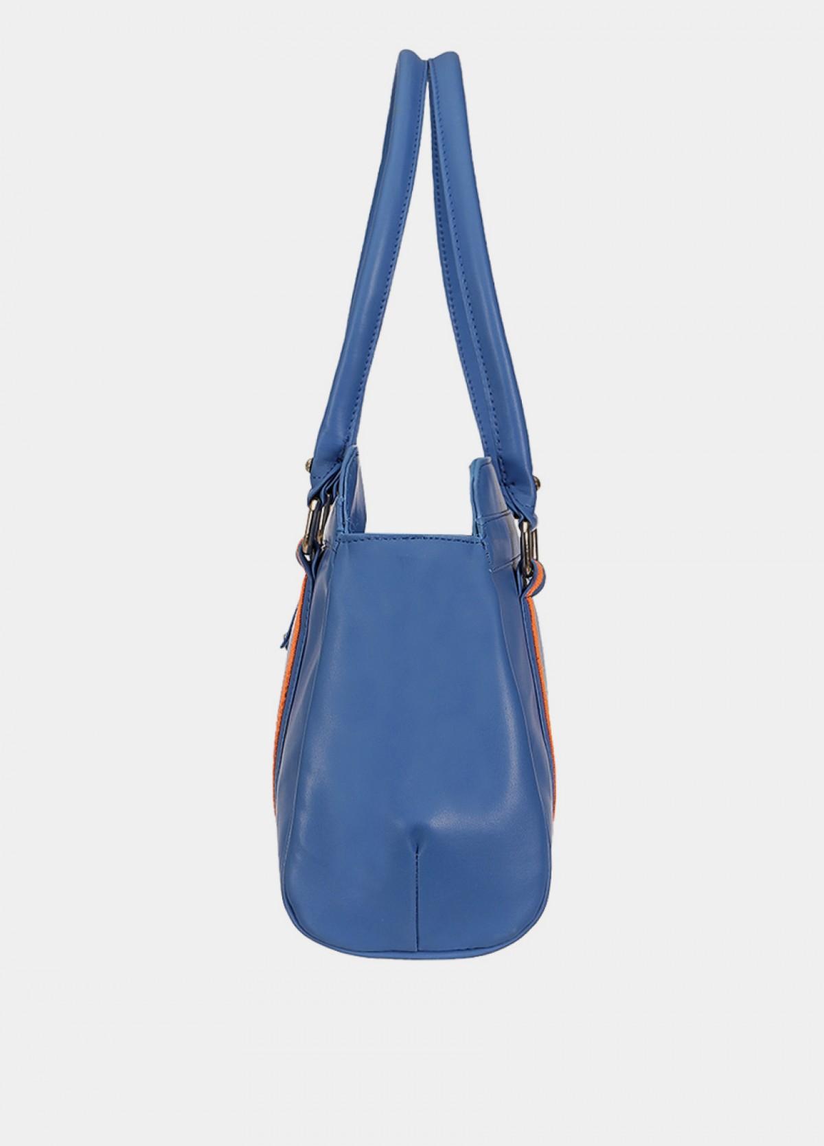 The Satyapaul Women Fashion Blue Hand Bag
