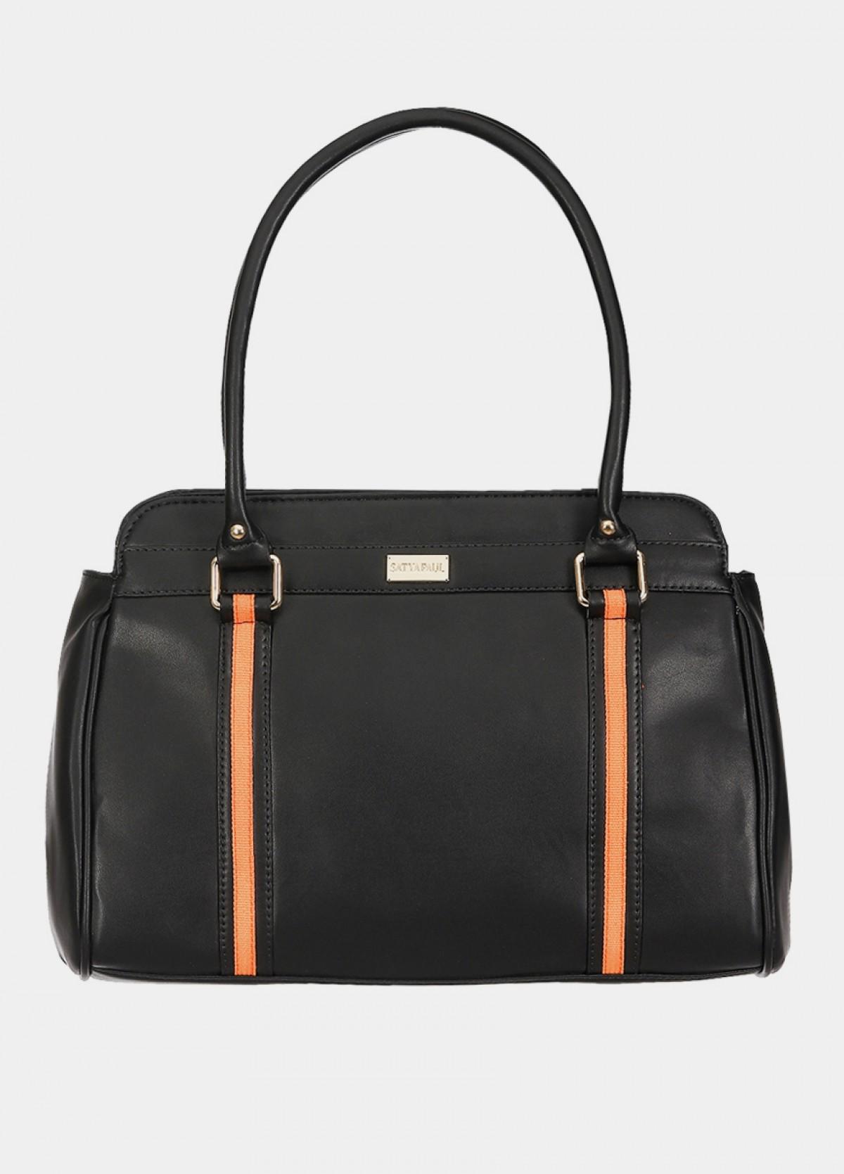 The Satyapaul Formal Black Hand Bag