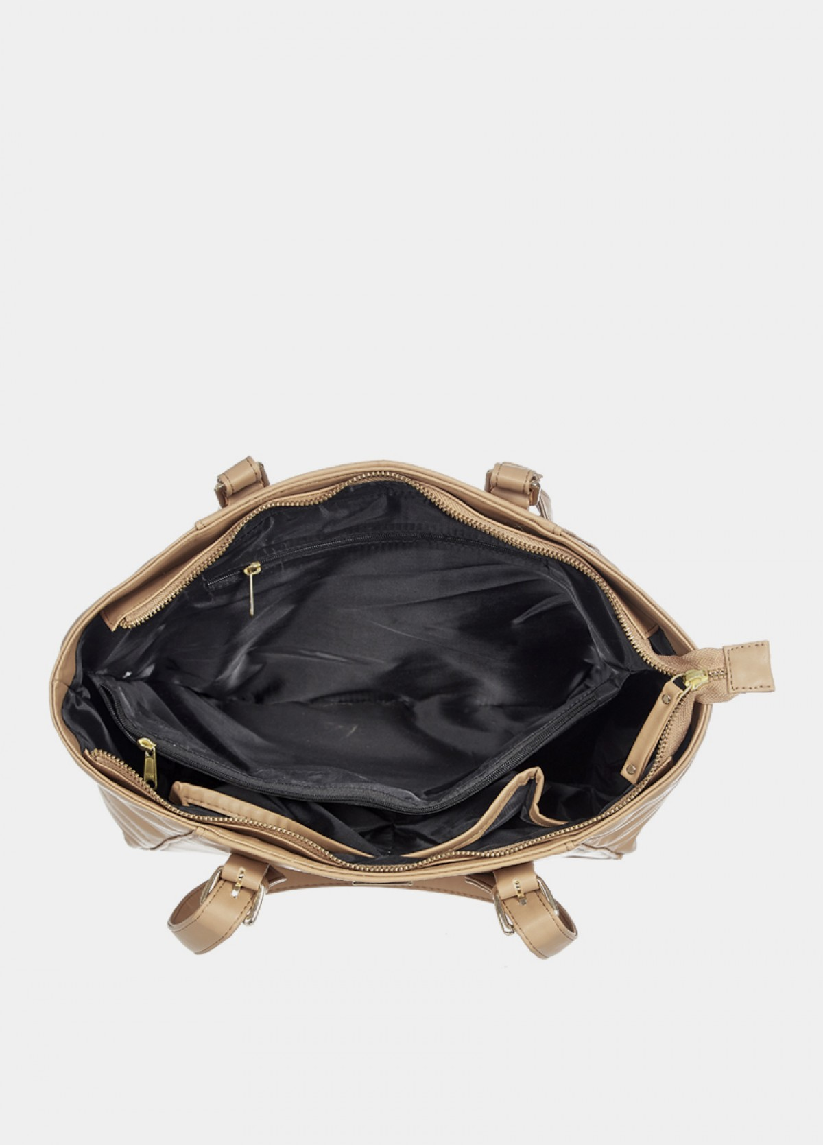 The Beige Travel Bag