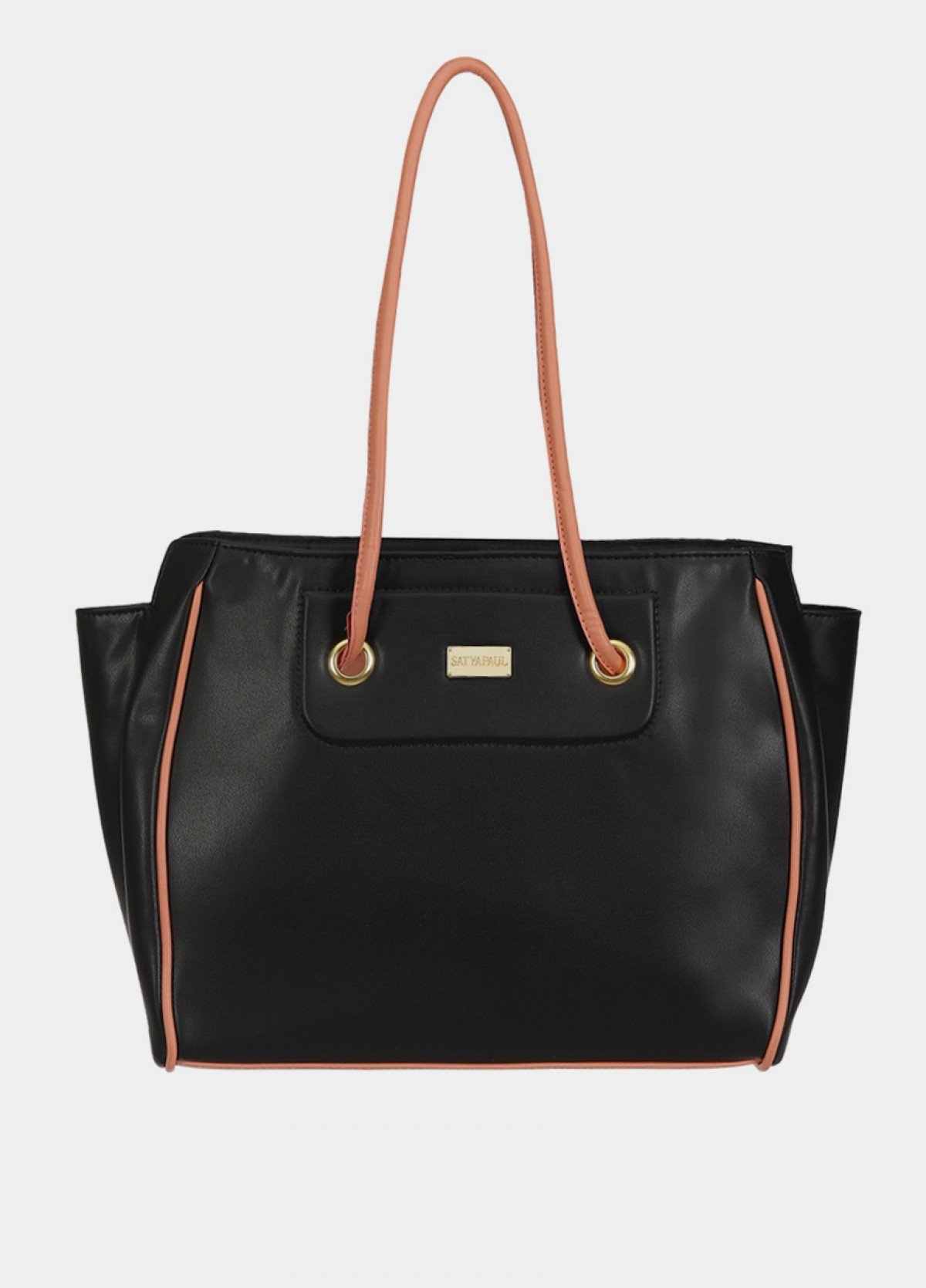 The Satyapaul Black Hand Bag