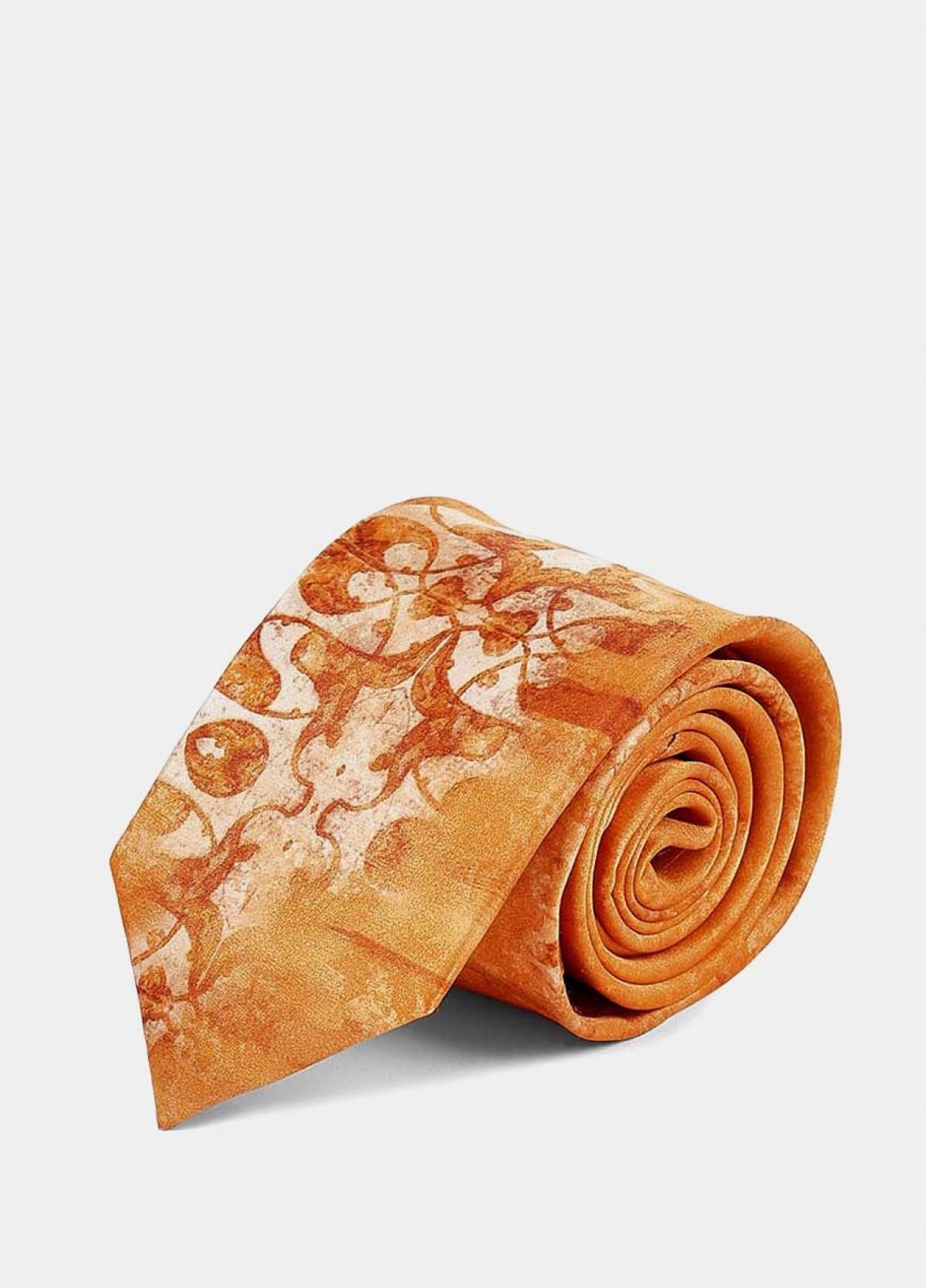 The Light Orange Signature Tie
