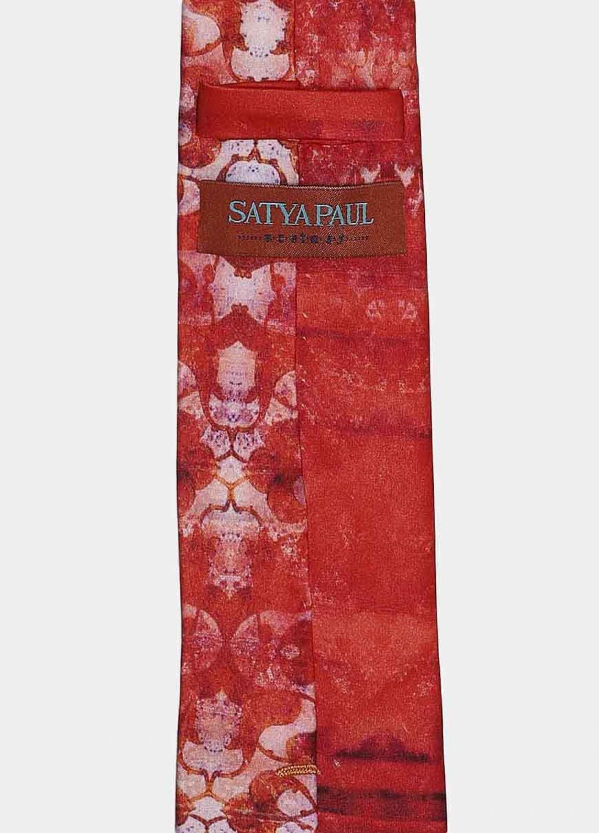 The Red Signature Tie