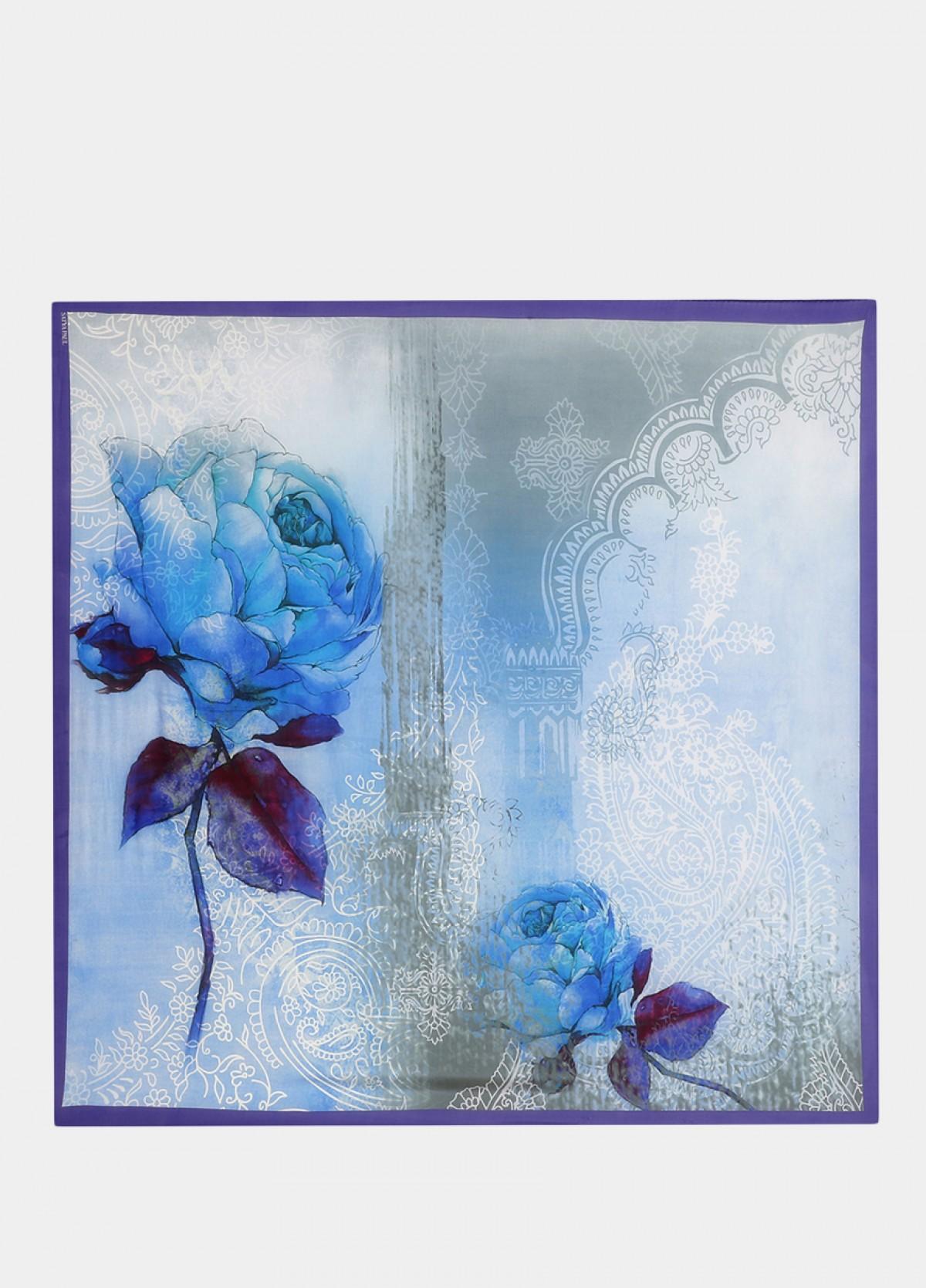 The Purple Lavender Silk Scarf