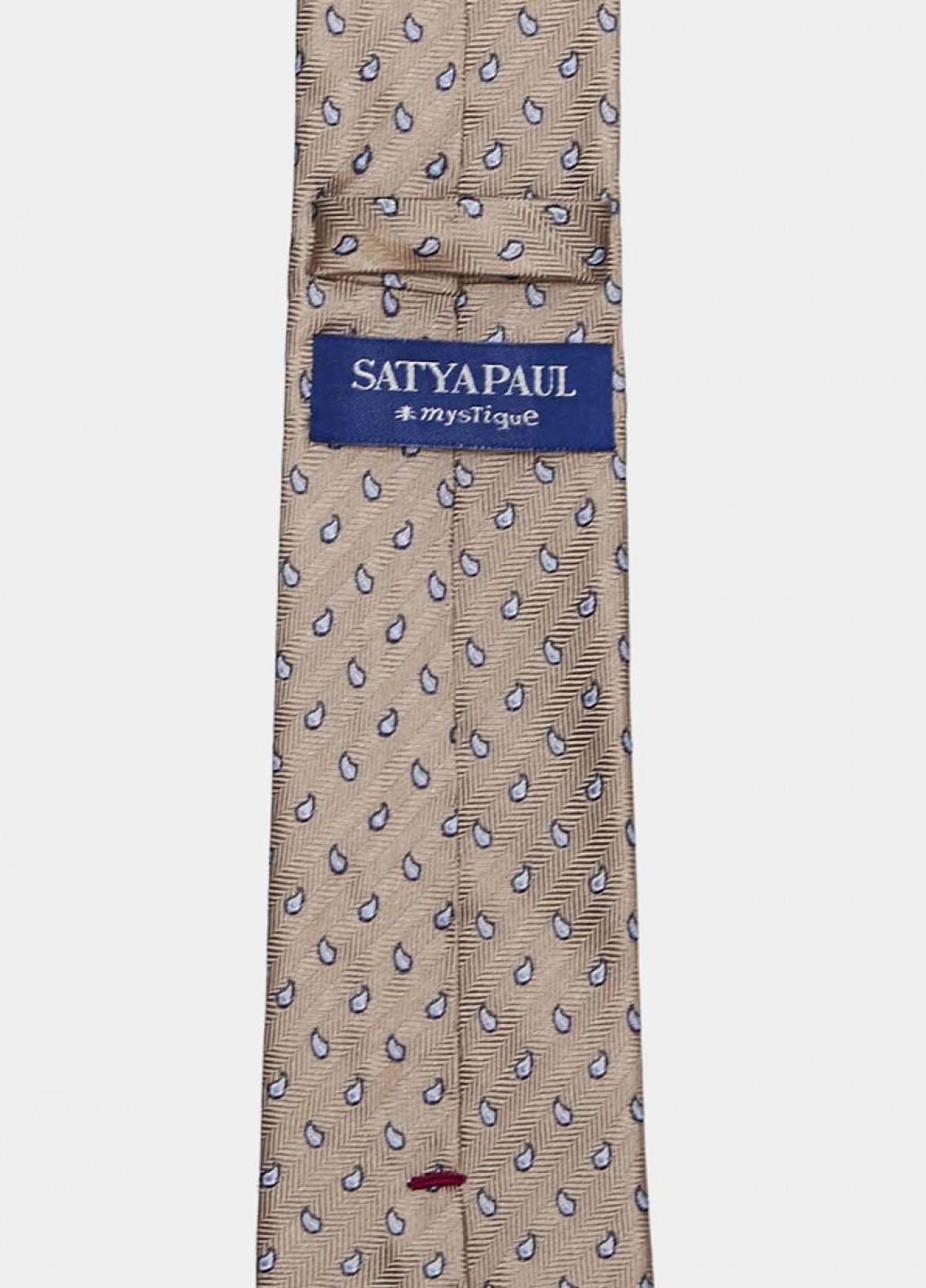 The Beige Stain Resistant Tie