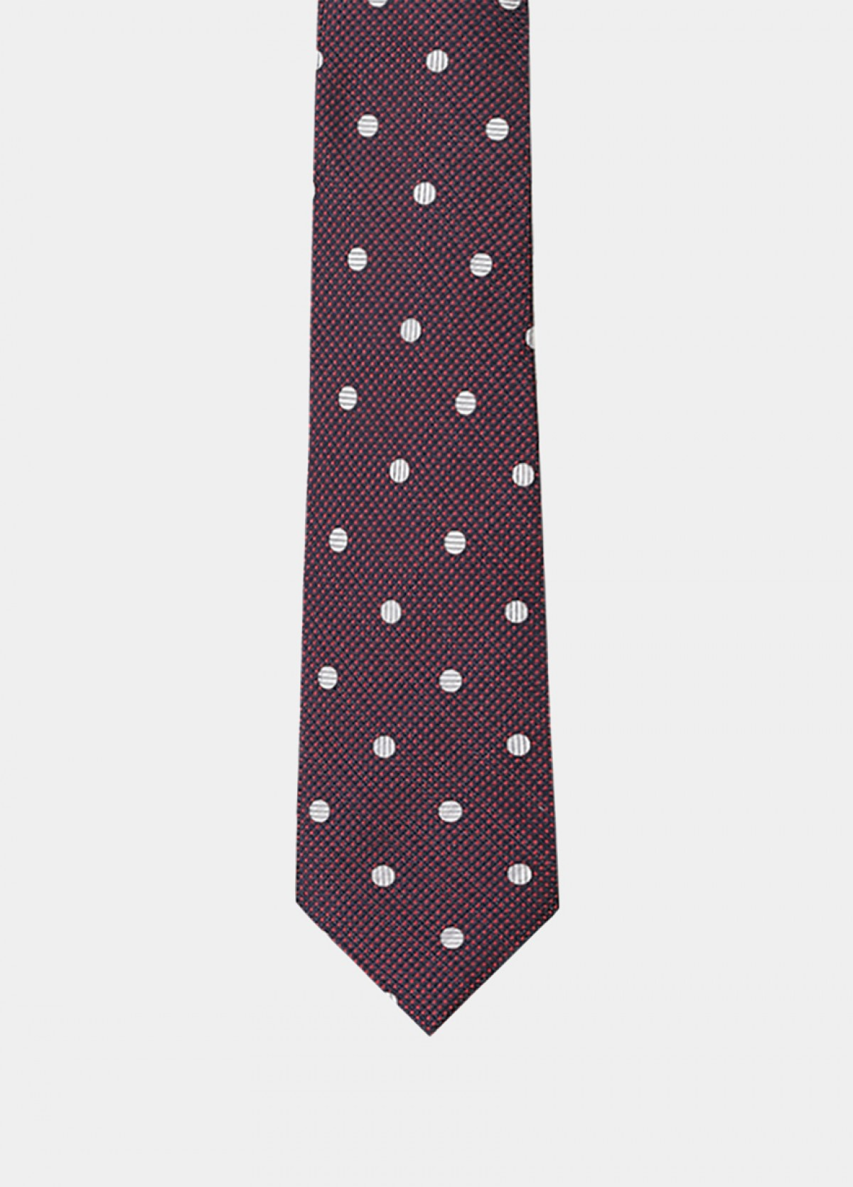 The Red Maroon Stain Resistant Tie