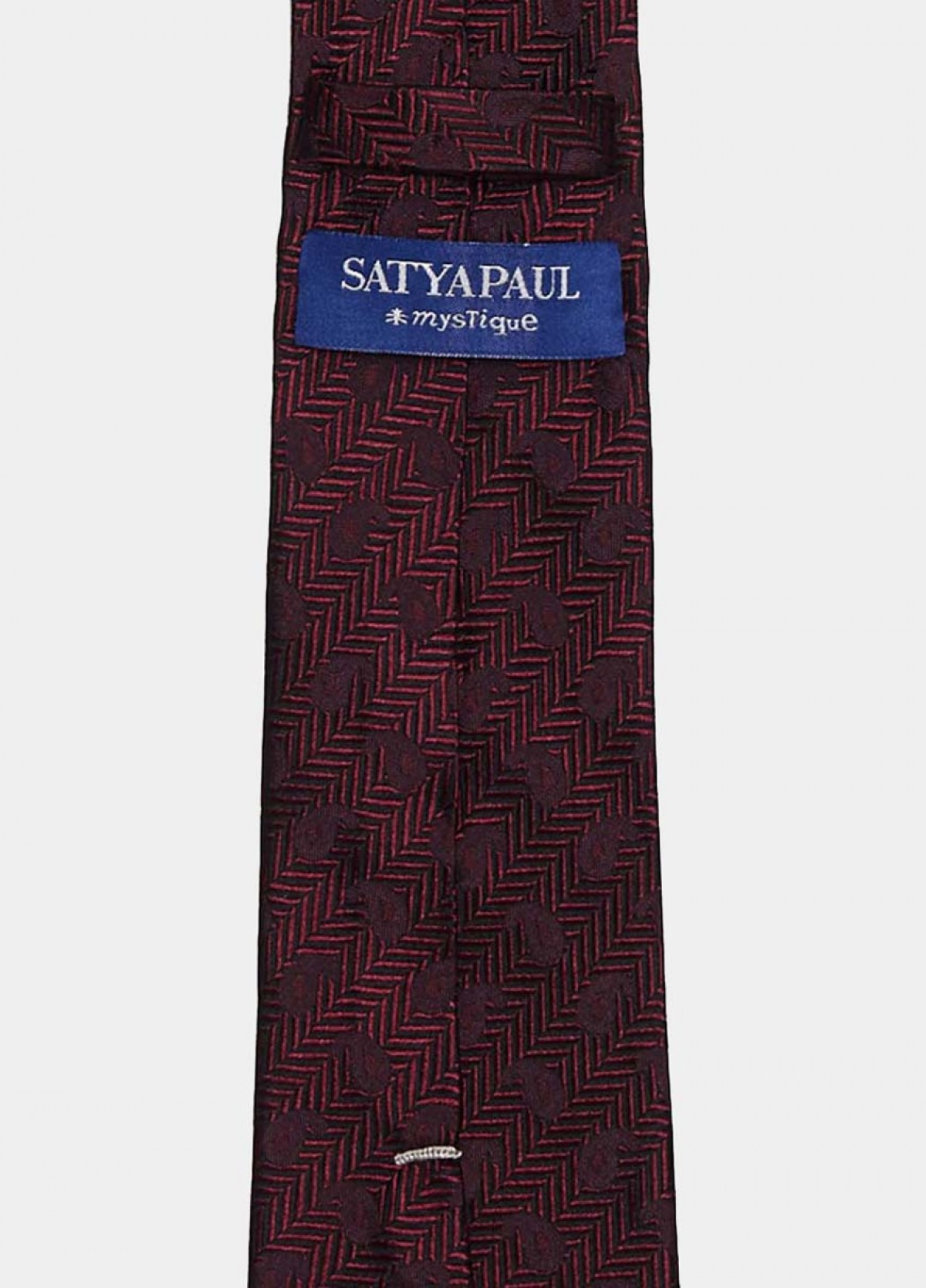 The Maroon Stain Resistant Tie