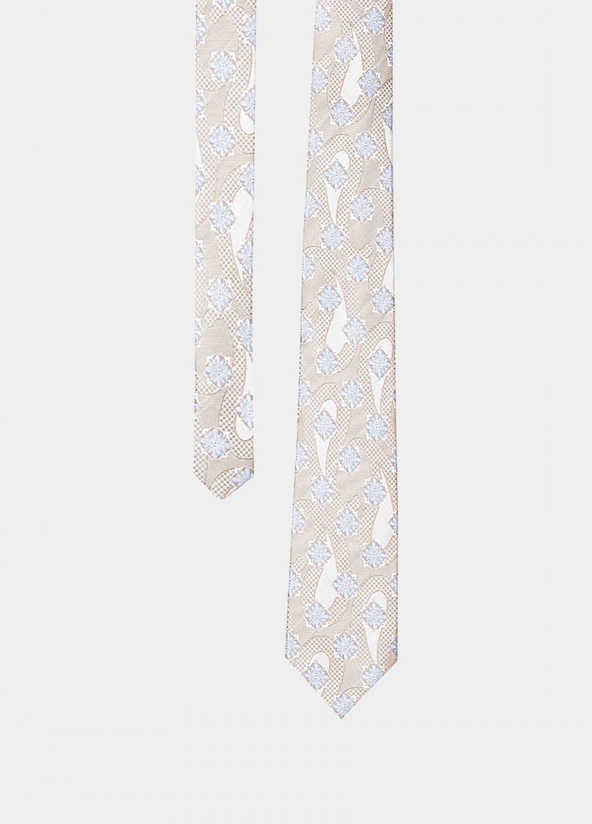 The Cream Stain Resistant Tie