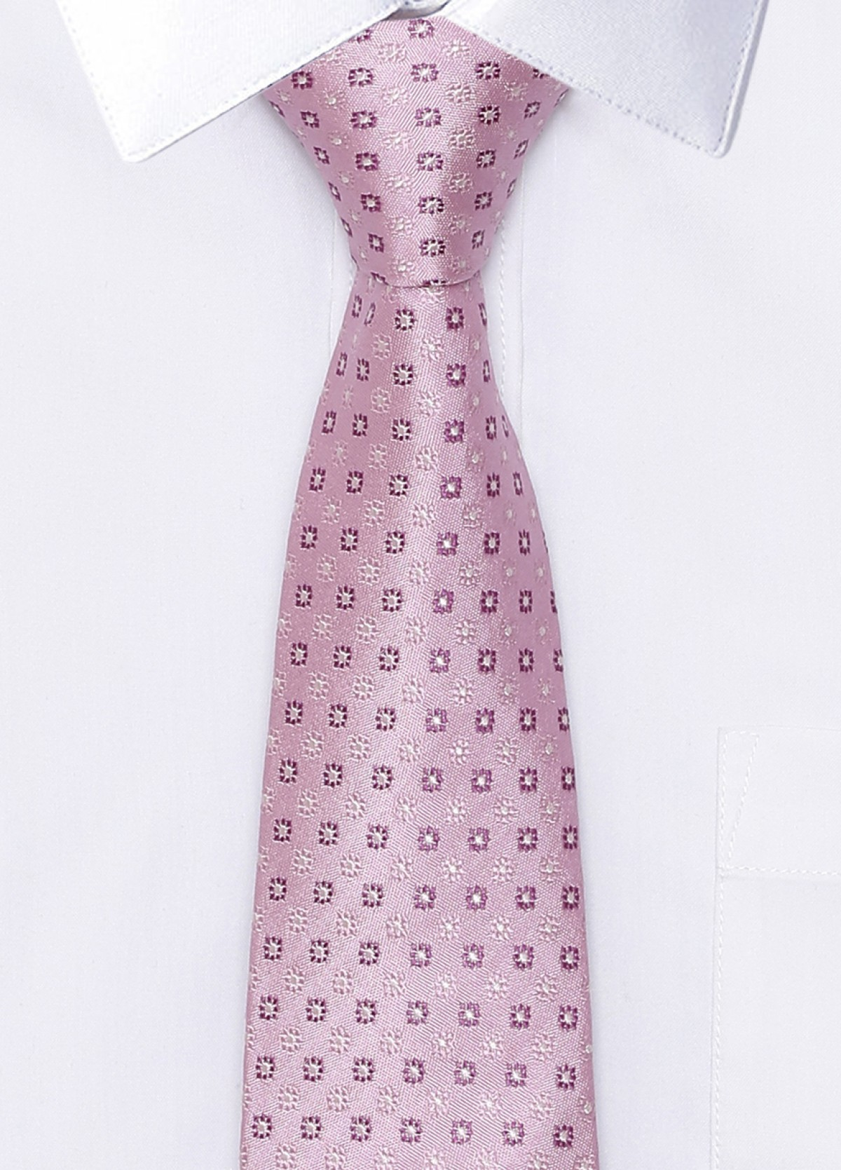 The Pink Formal Silk Stain Resistant