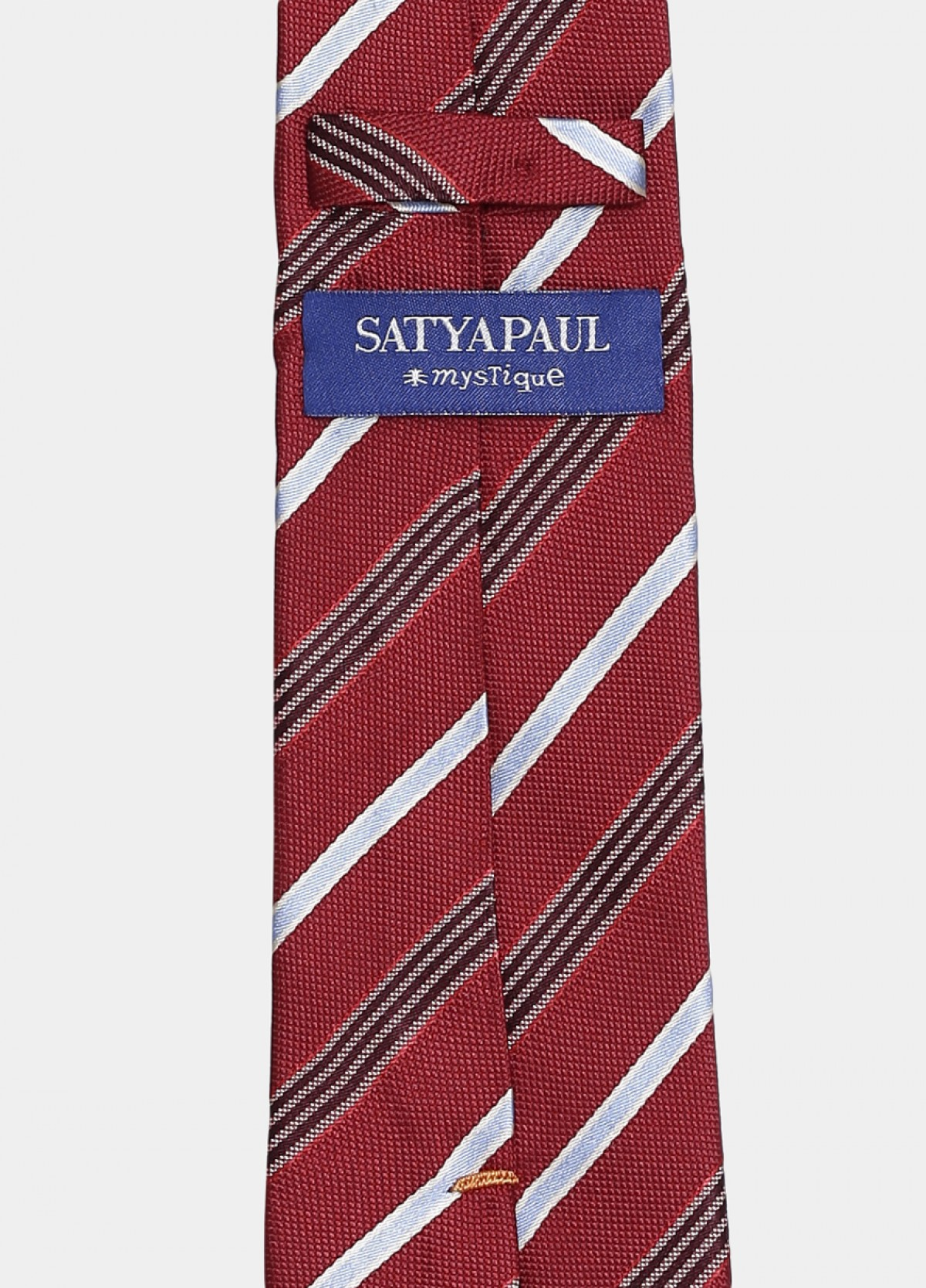 The Red Formal Silk Stain Resistant