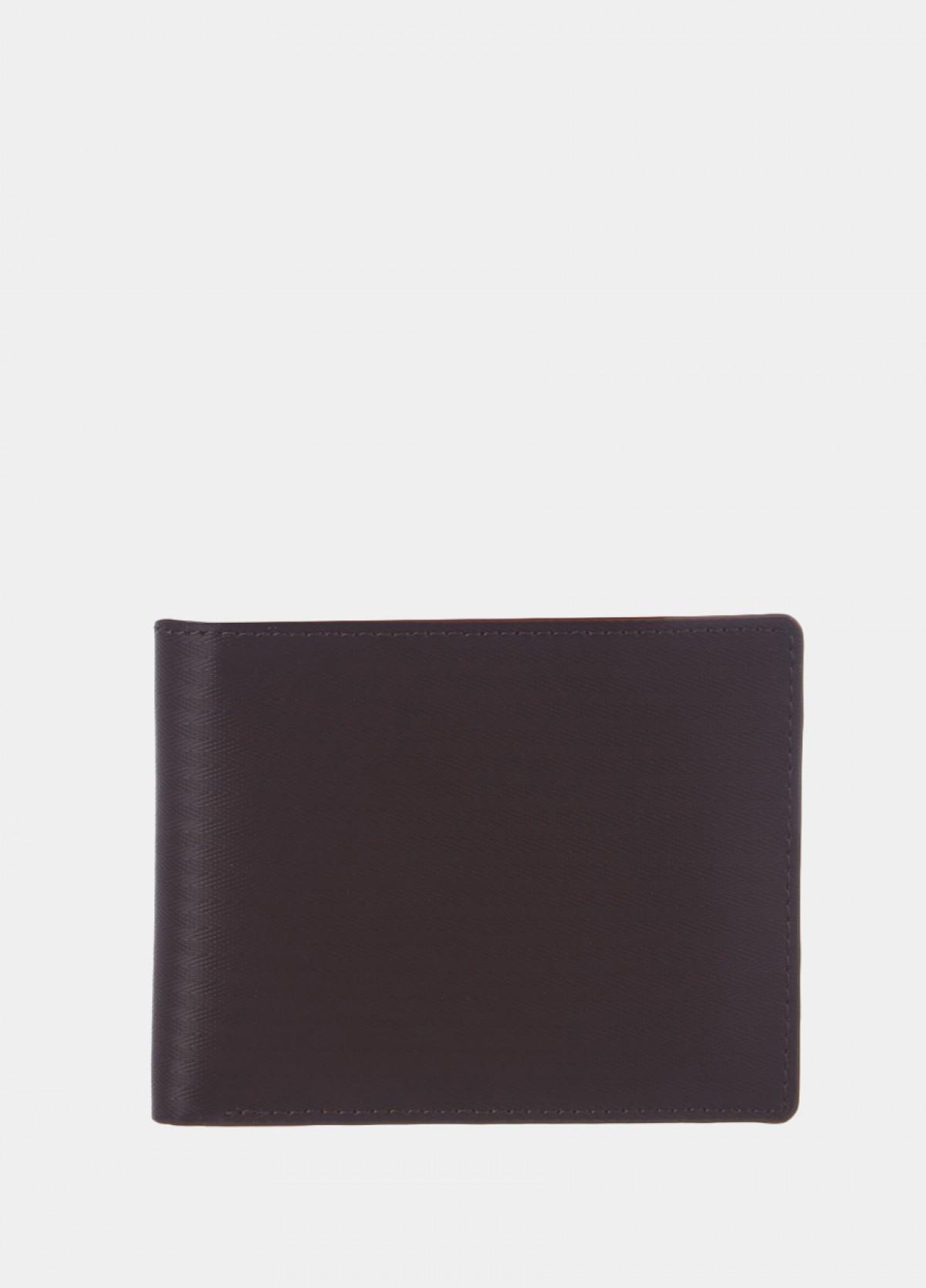 The Black Textured Bi-Fold Wallet