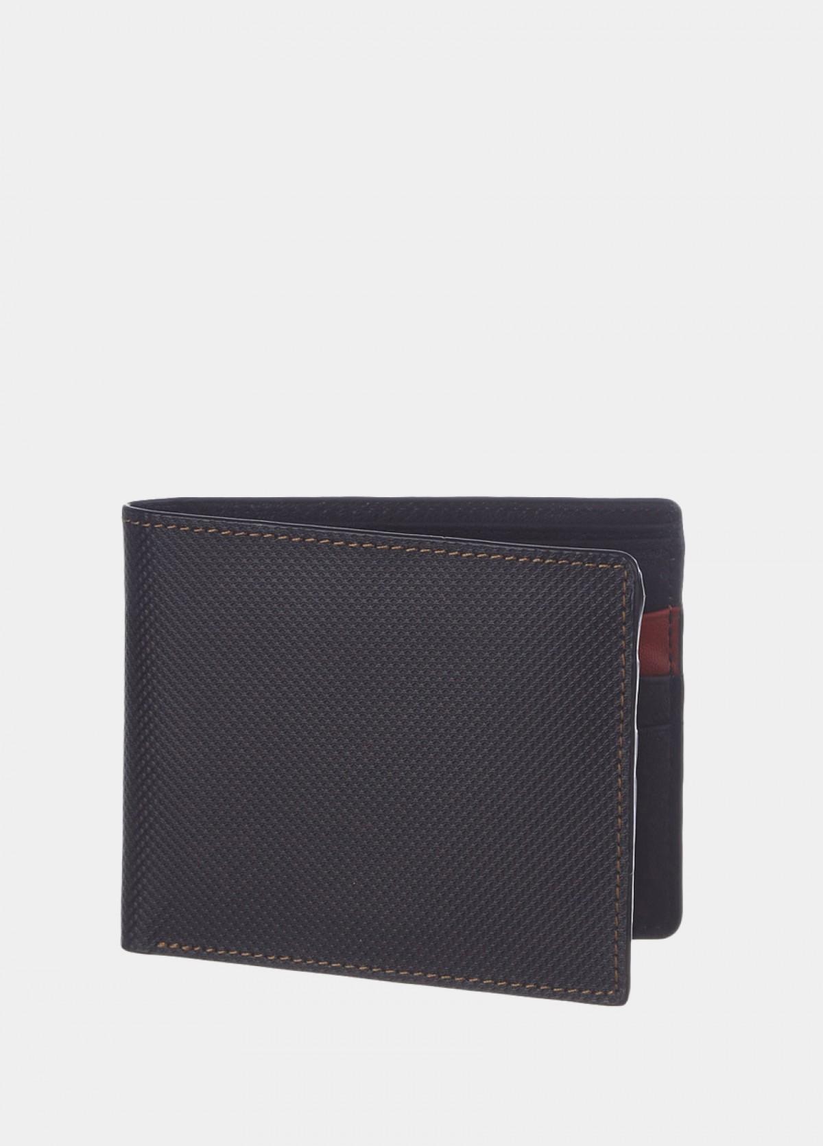 The Black Bi-Fold Wallet