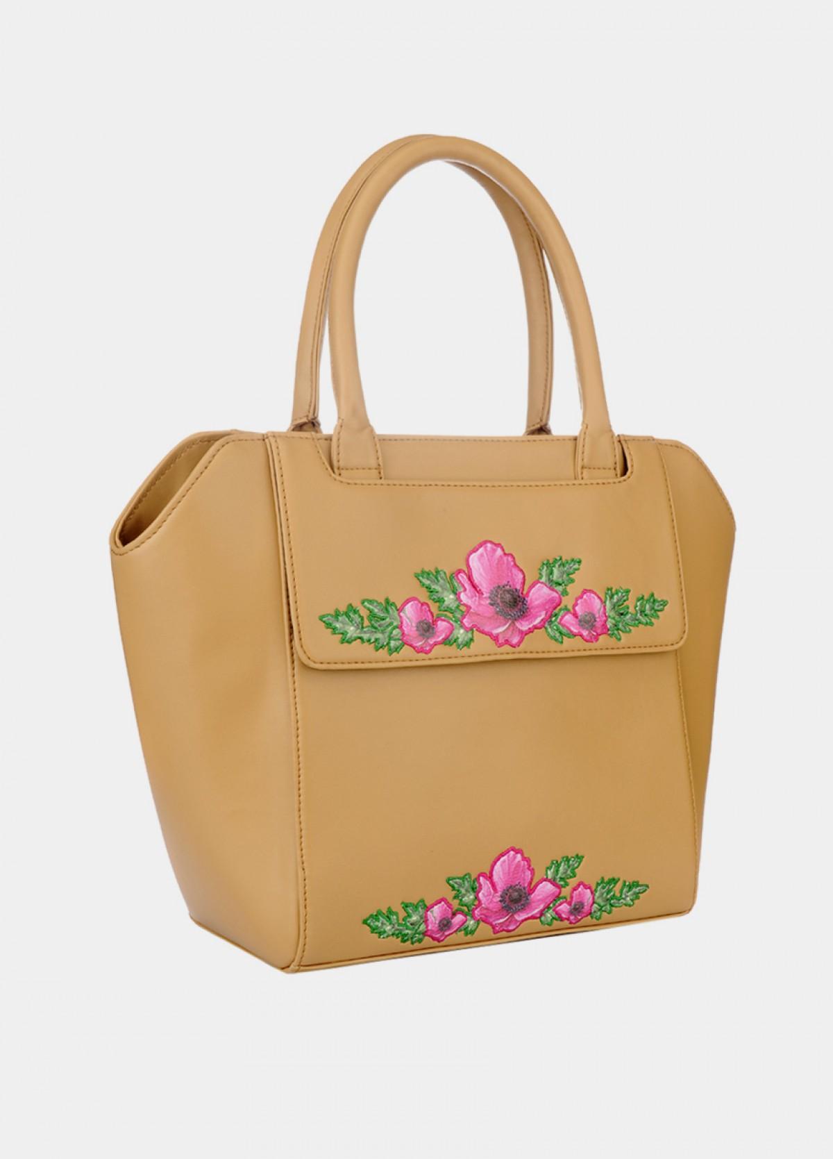 The Embroidered Shoulder Bag