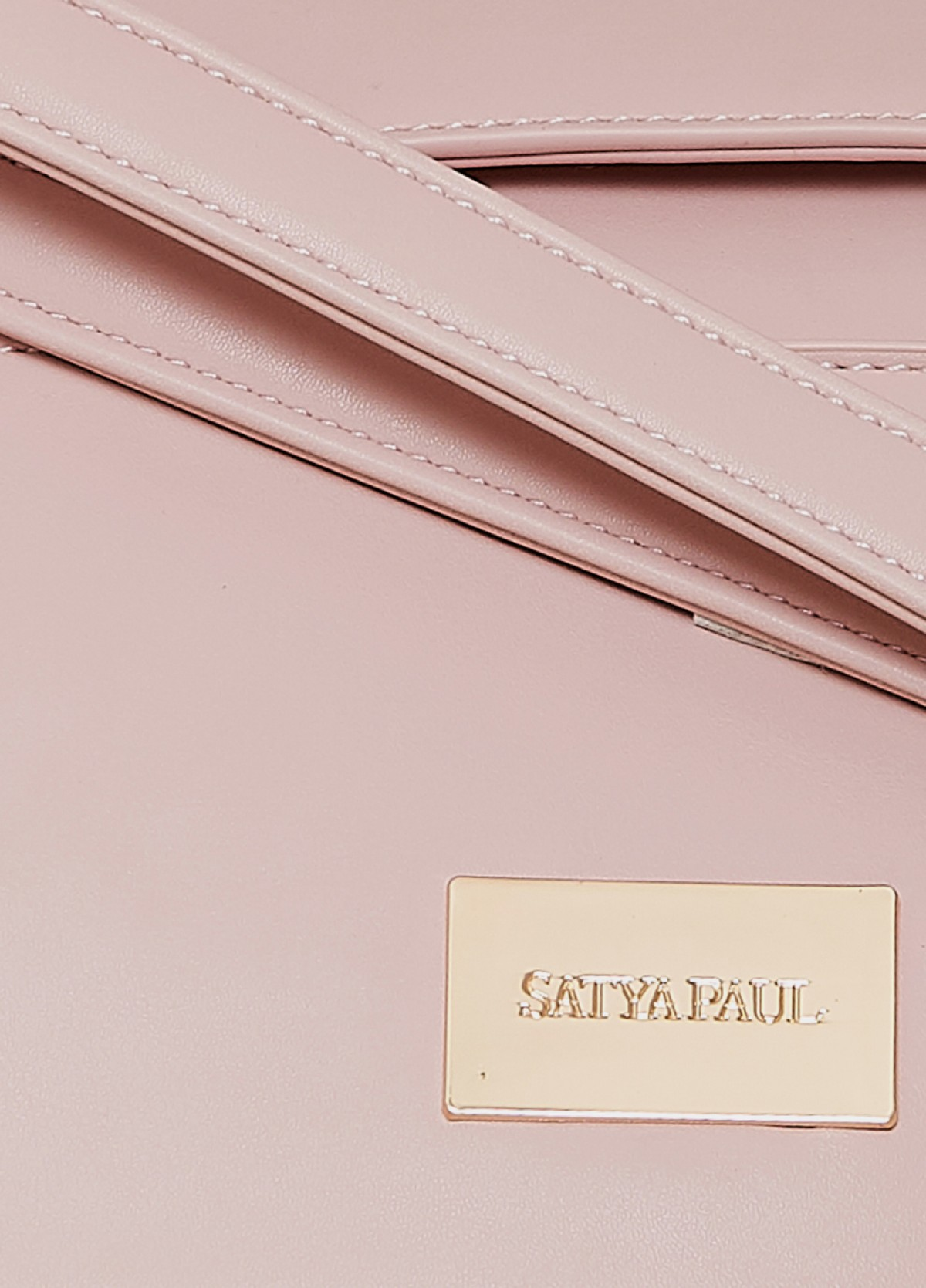 The Light Pink Hand Held Bag