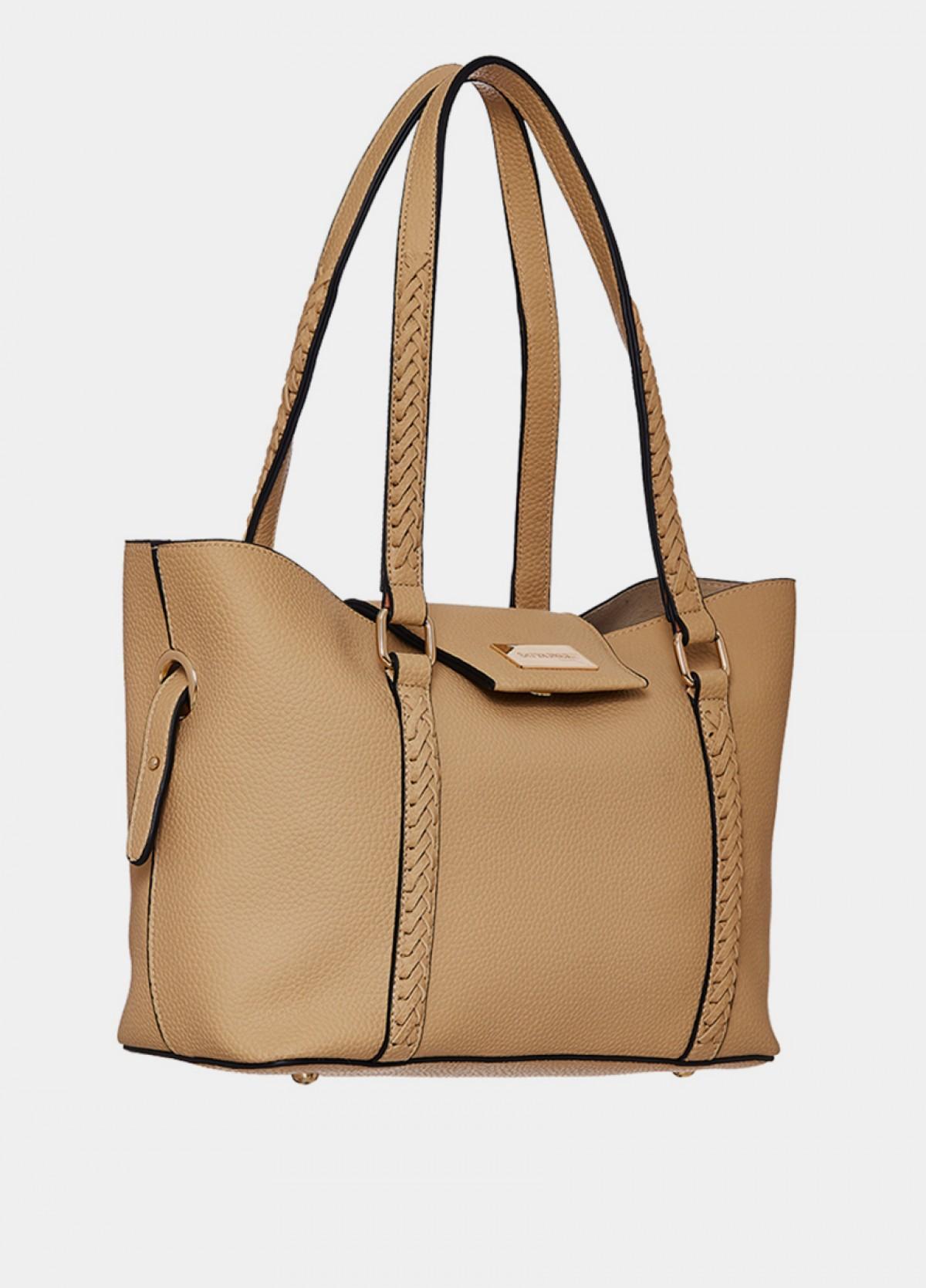 The Beige Shoulder Handbag