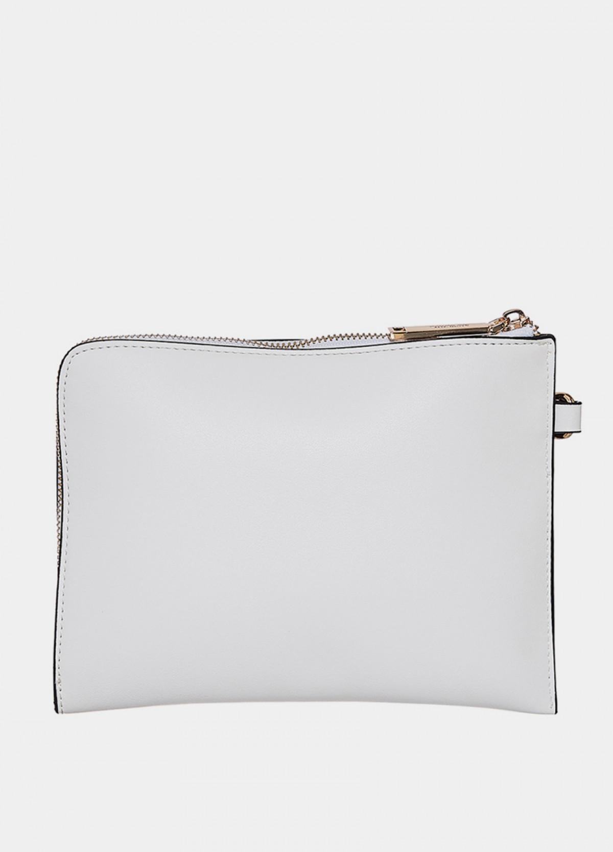 The White Sling Handbag