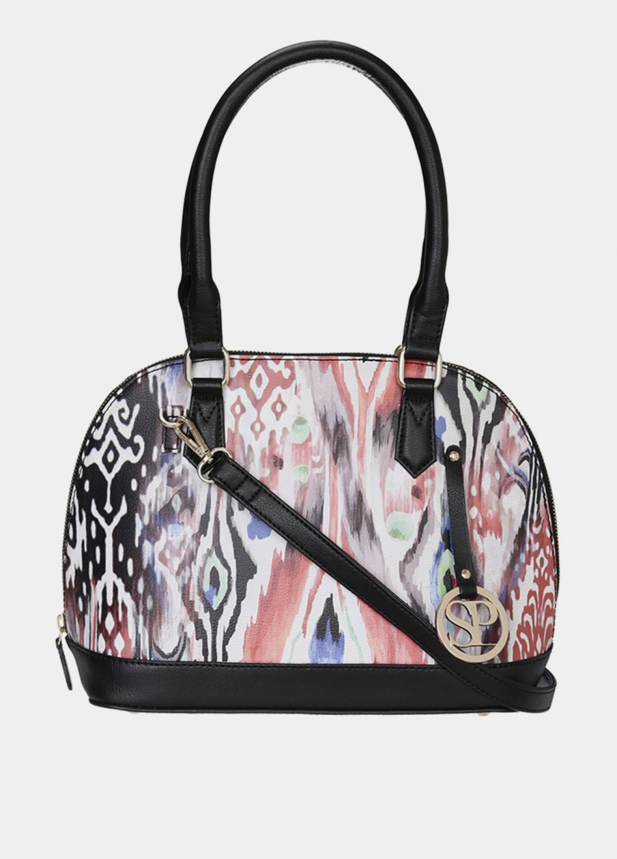 The Black D Shape Handbag