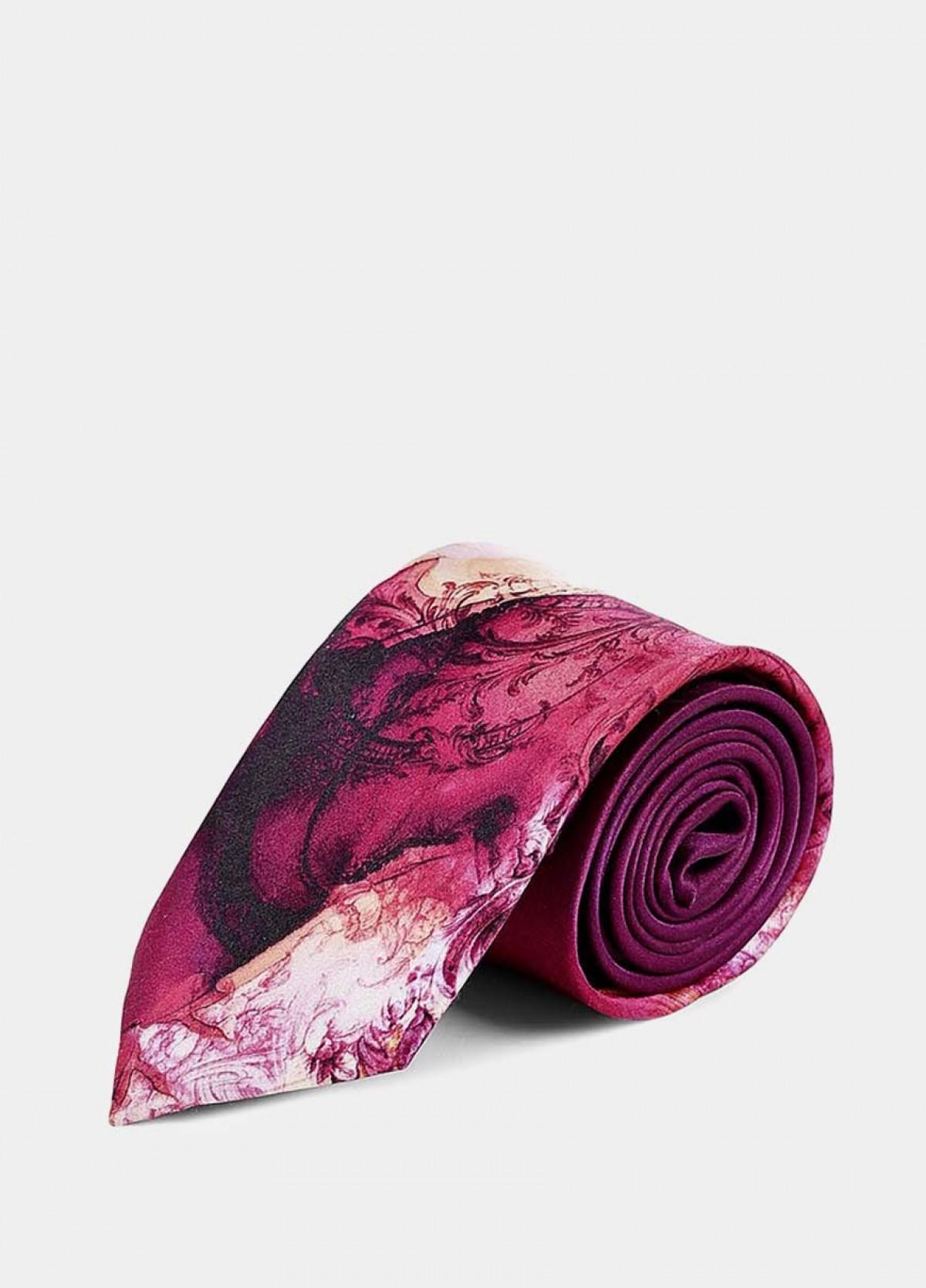 The Printed Silk Necktie