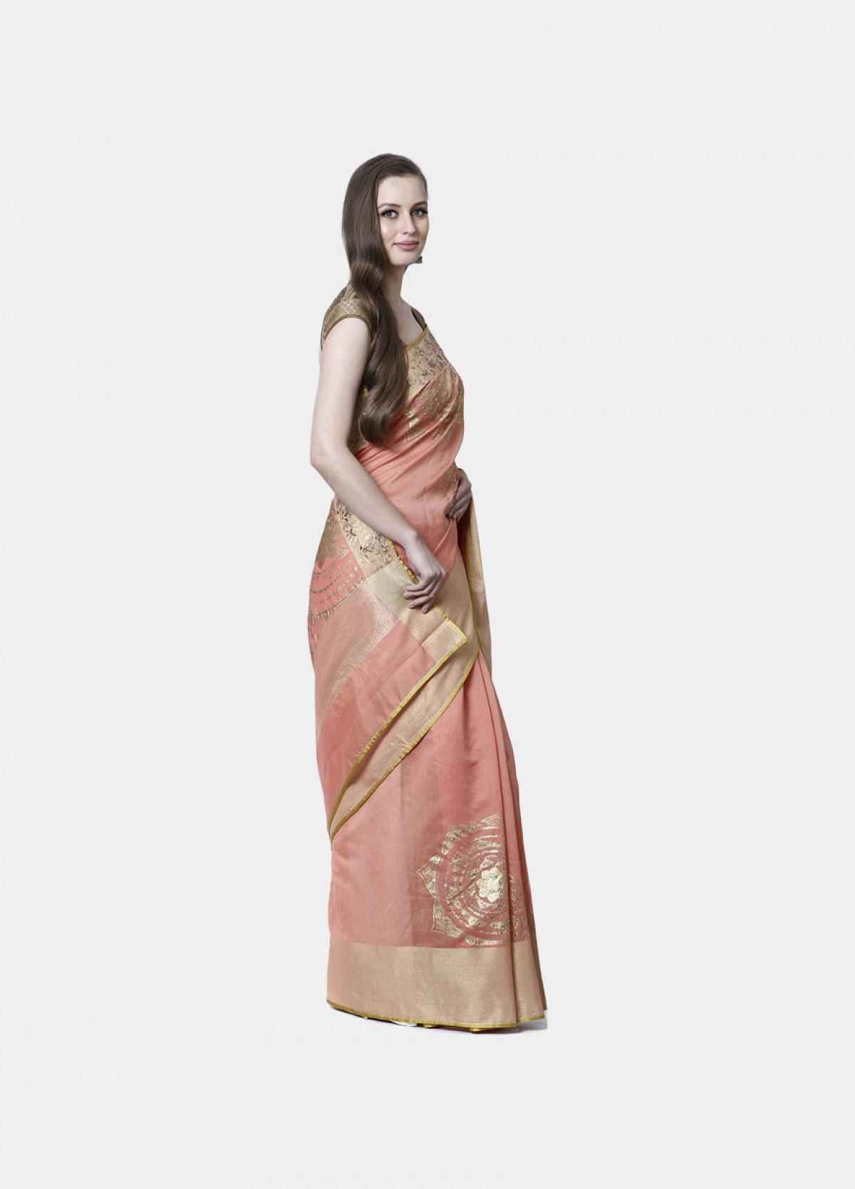 The Radiant mandala Sari