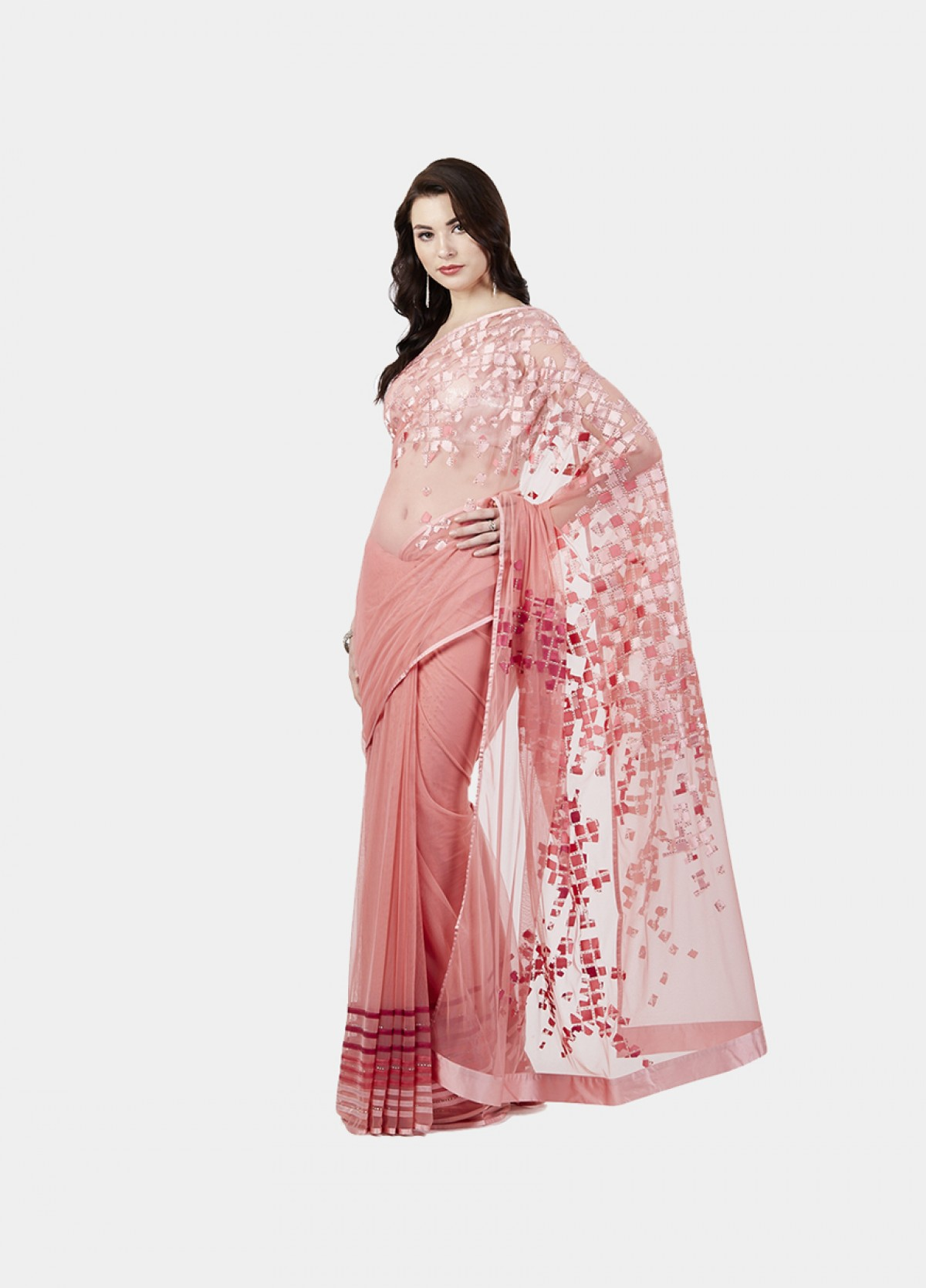 The Maze Ombre Sari
