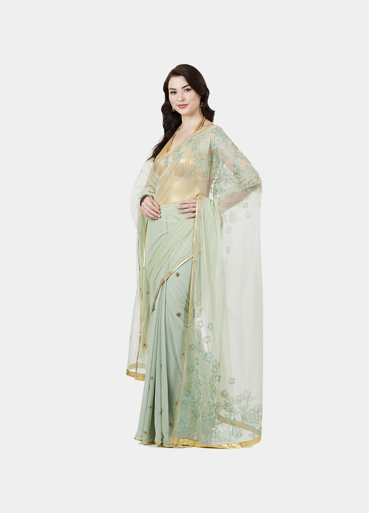 The Sublime Blossom Sari
