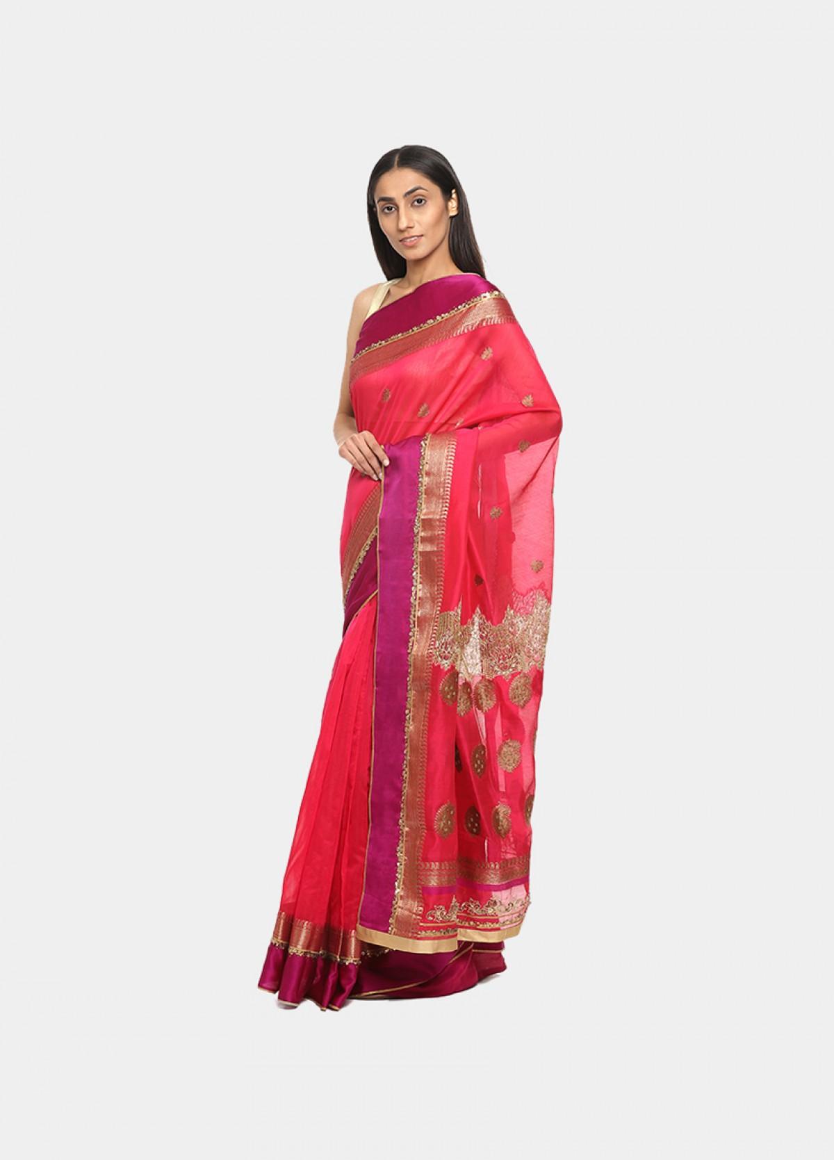 The Woven Art Banarsi Silk Sari