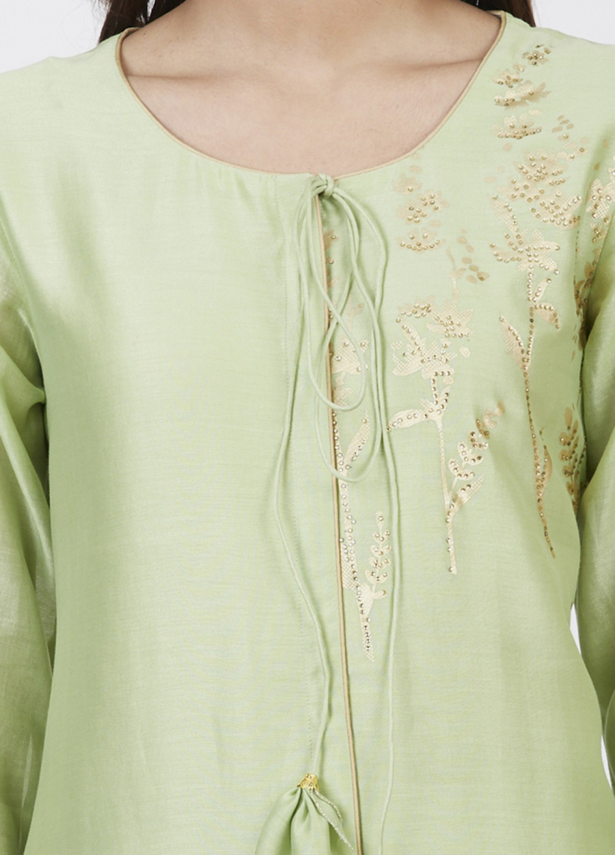 The Sprinkled Blossom Kurta Bottom Set