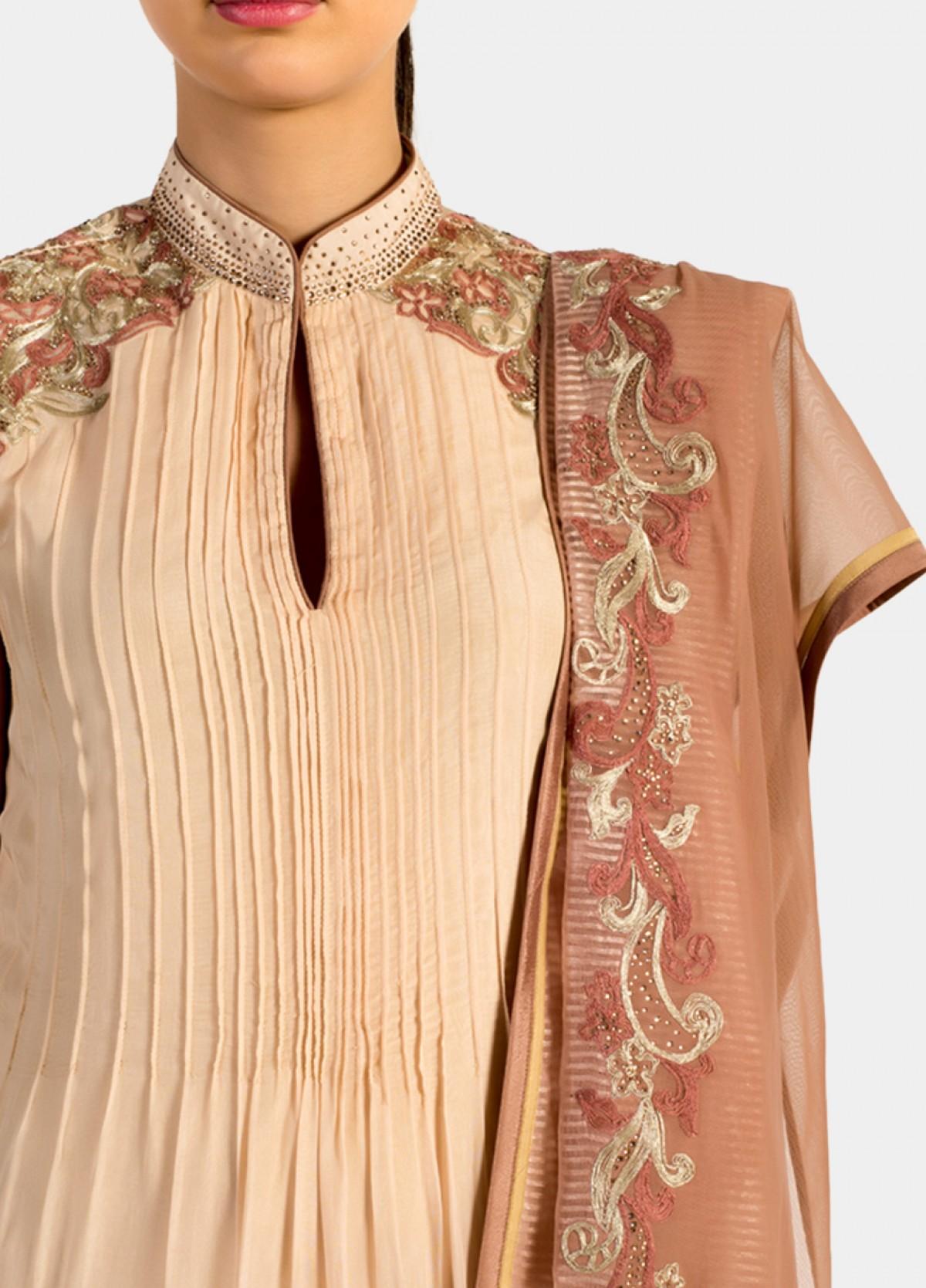 The Blushing Ombre Suit Kurta Bottom Dupatta Set