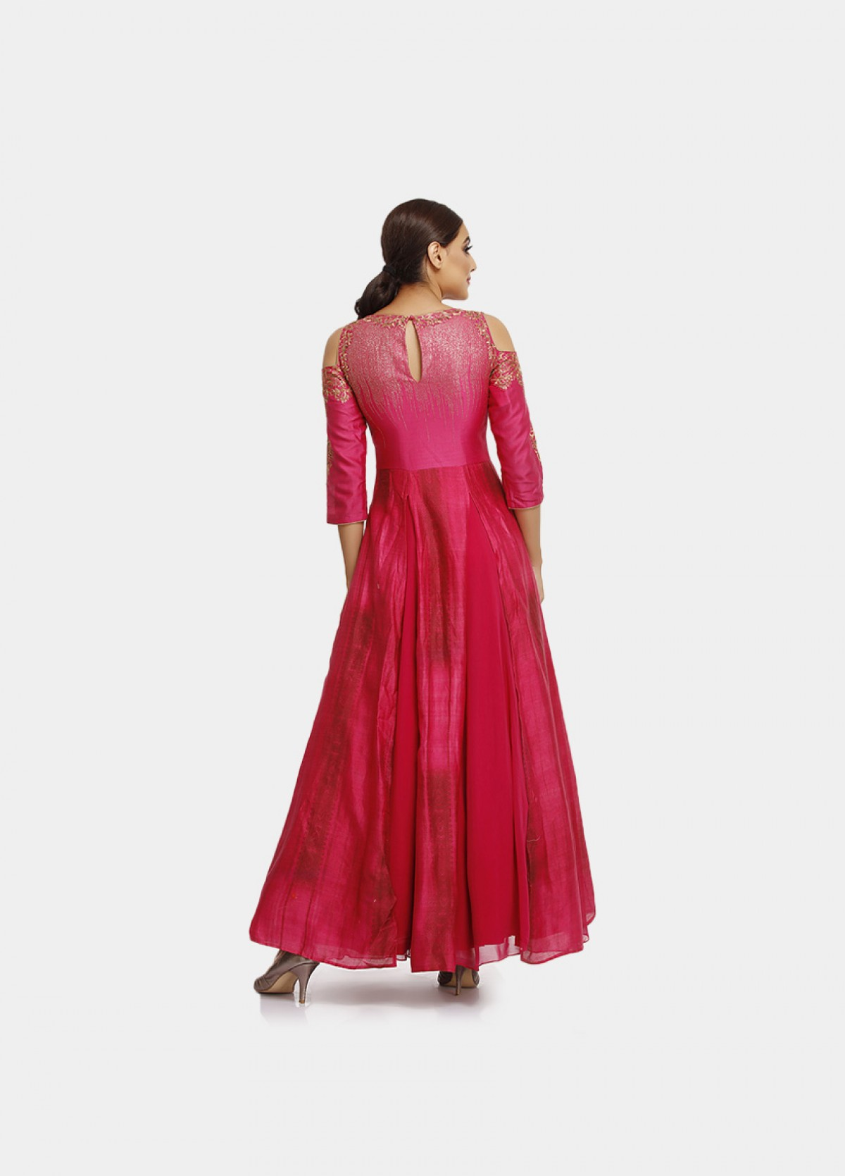 The Woven Primrose Gown
