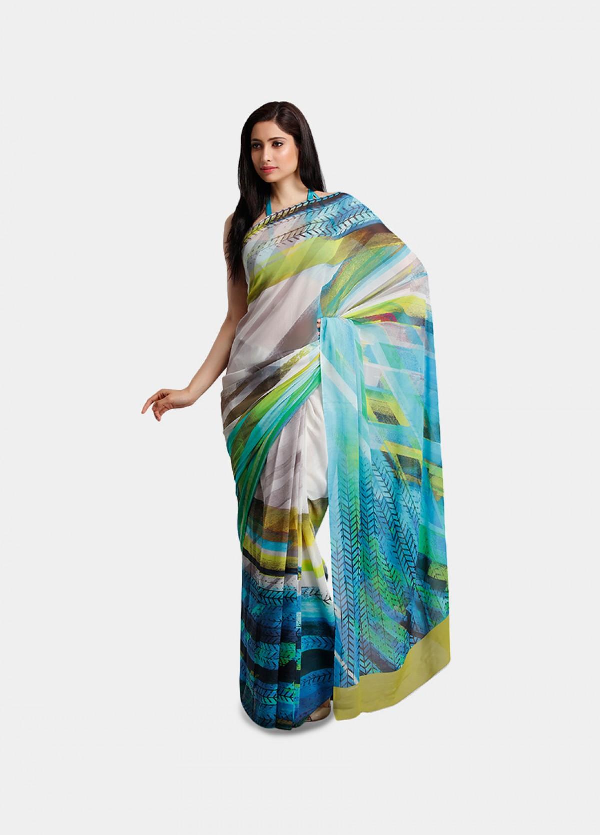 The Graphic Wall Art Sari