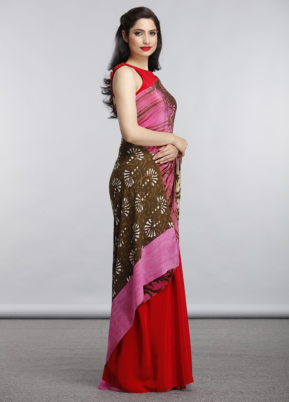 The Jaipuri Block Print Sari