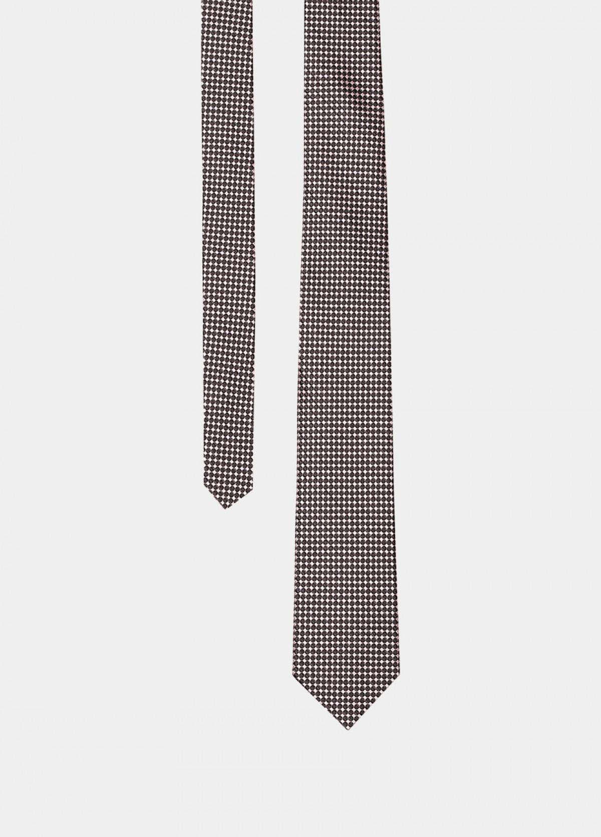 The Black Silk Tie