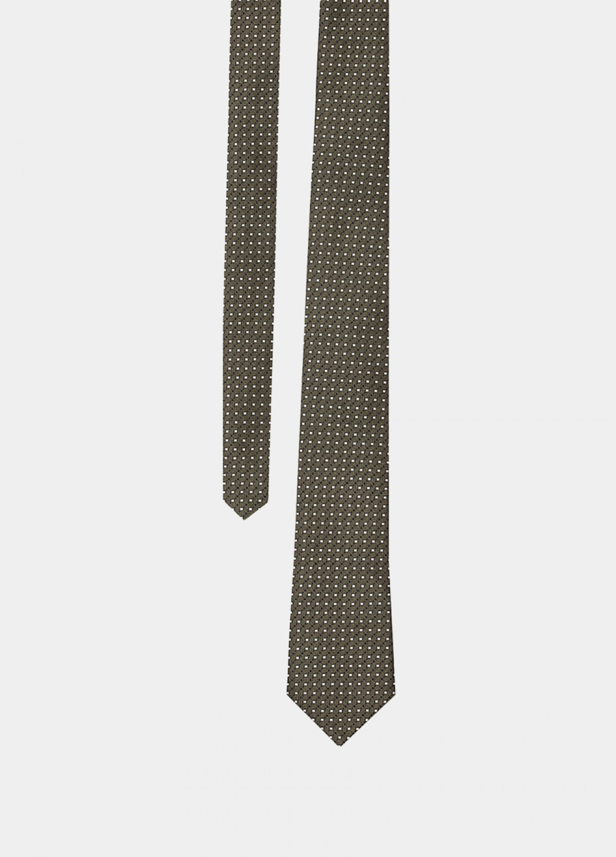 The Green Olive Silk Tie