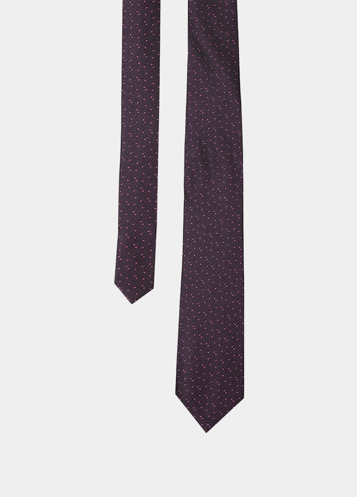 The Purple Silk Tie