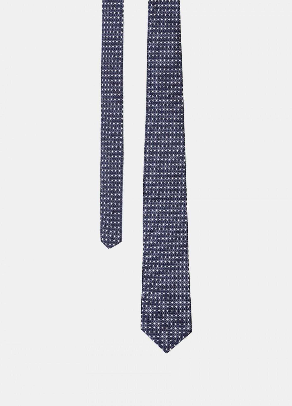 The Blue Silk Tie