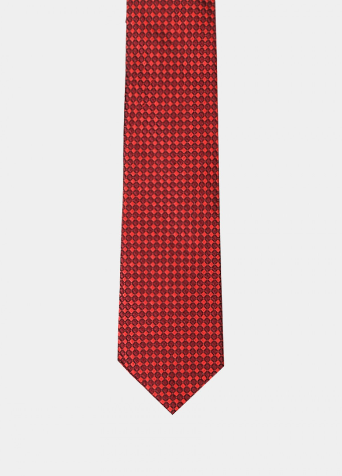 The Red Silk Tie