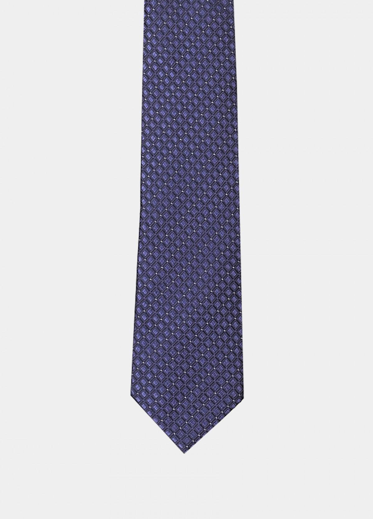 The Blue Navy Silk Tie