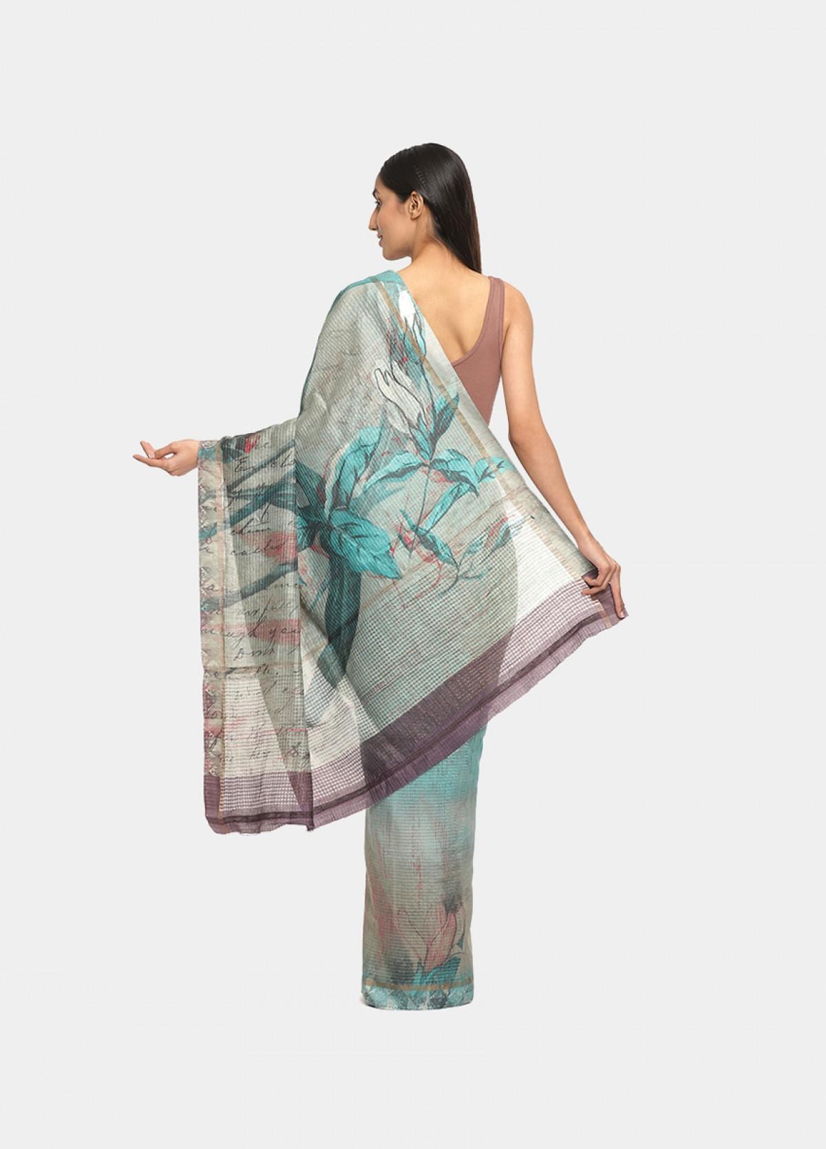 The Haldi Sari