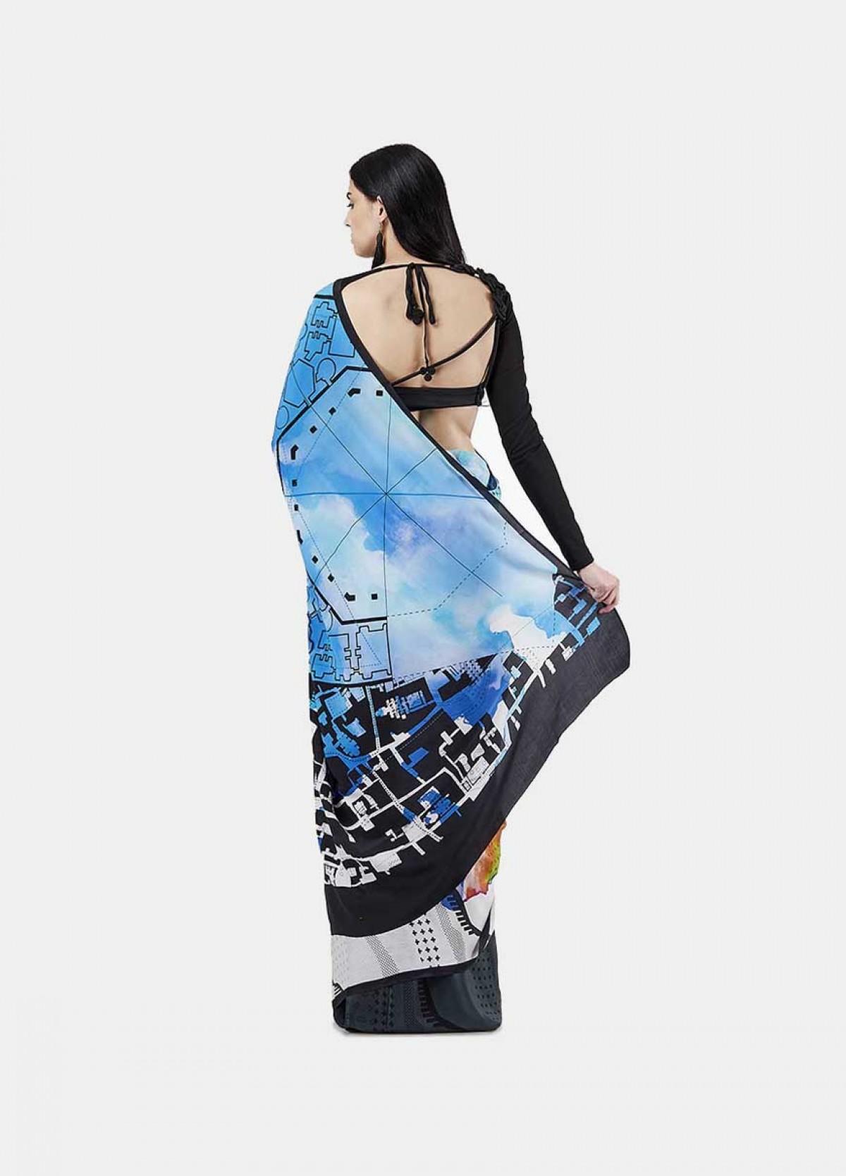 The Neo Artist Sari