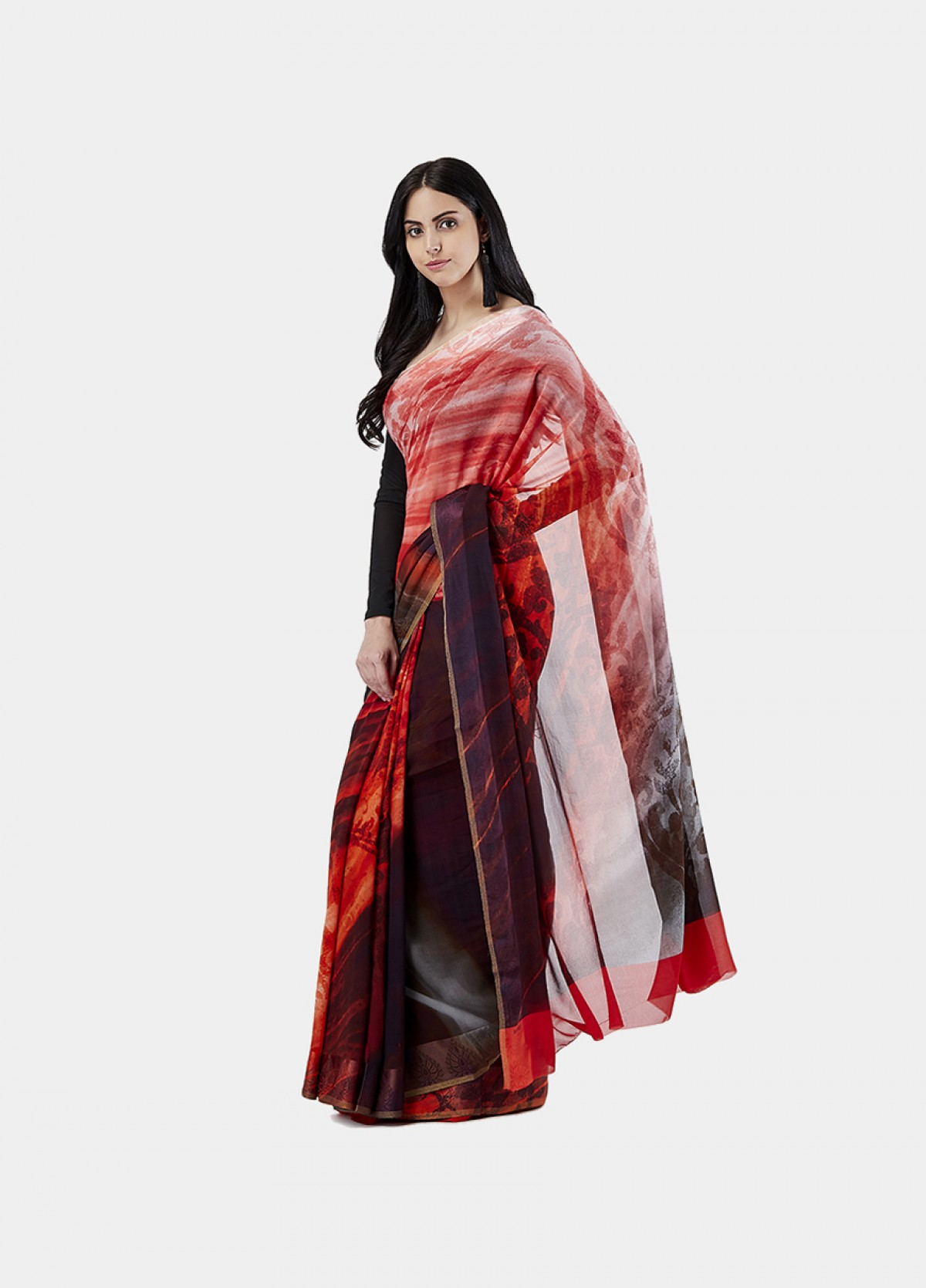 The Nothern Lights Sari
