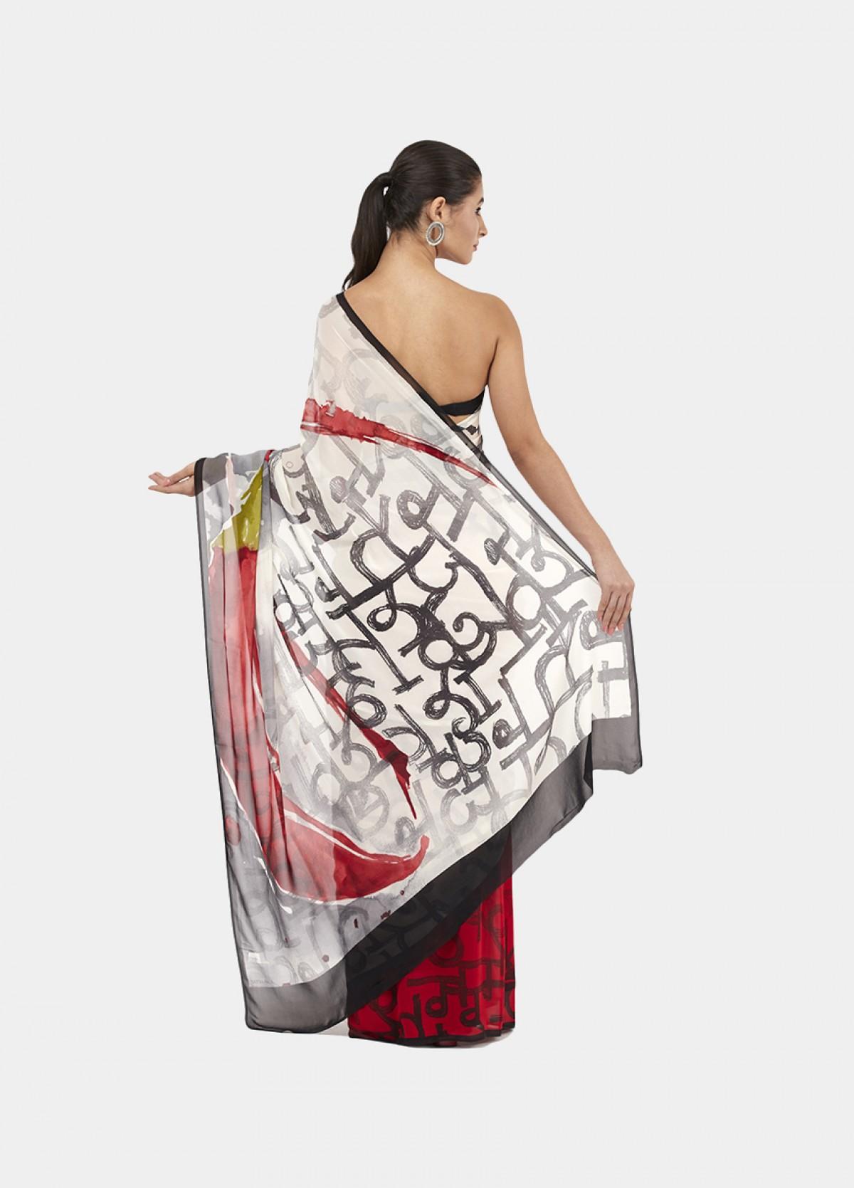 The Mirchi Sari