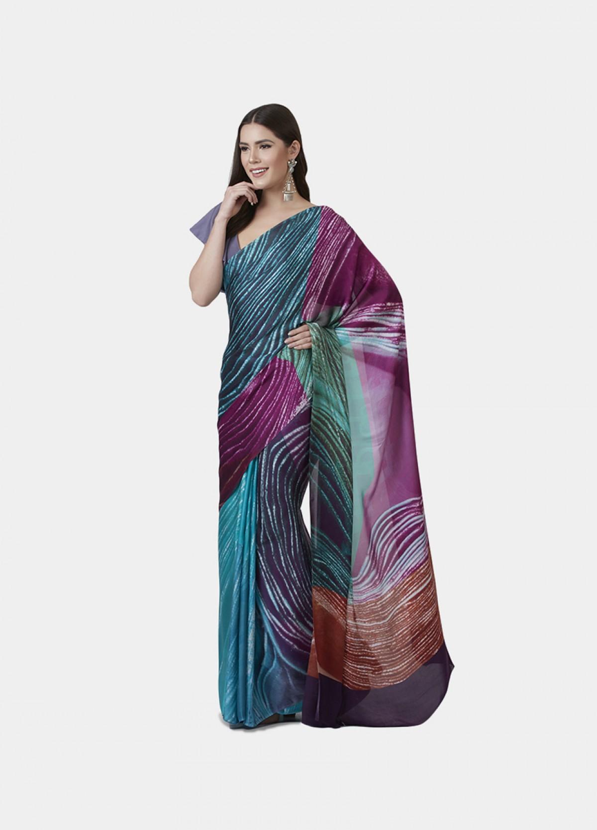 The Glaze Sari