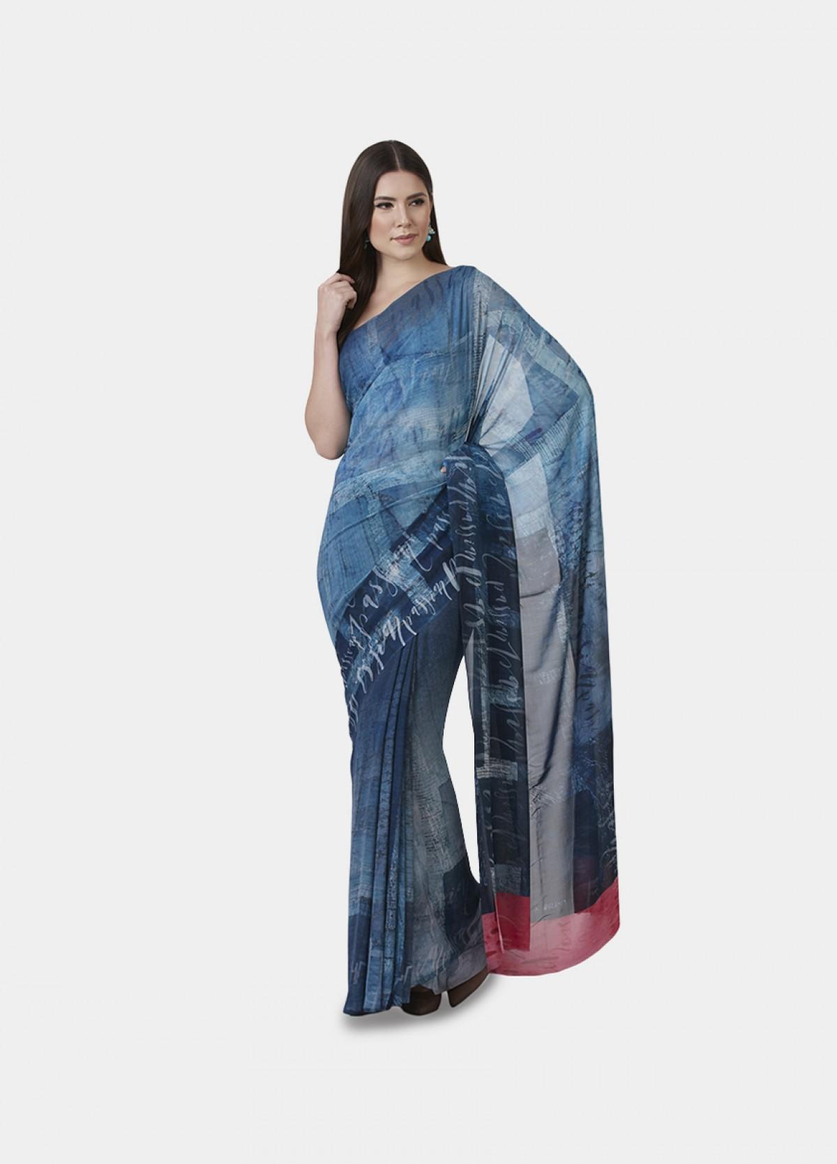 The Denim Sari