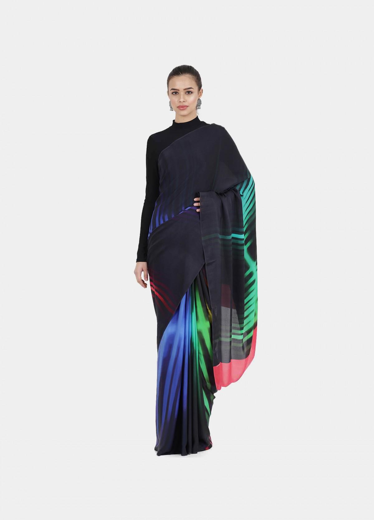 The Kaleidoscope  Sari