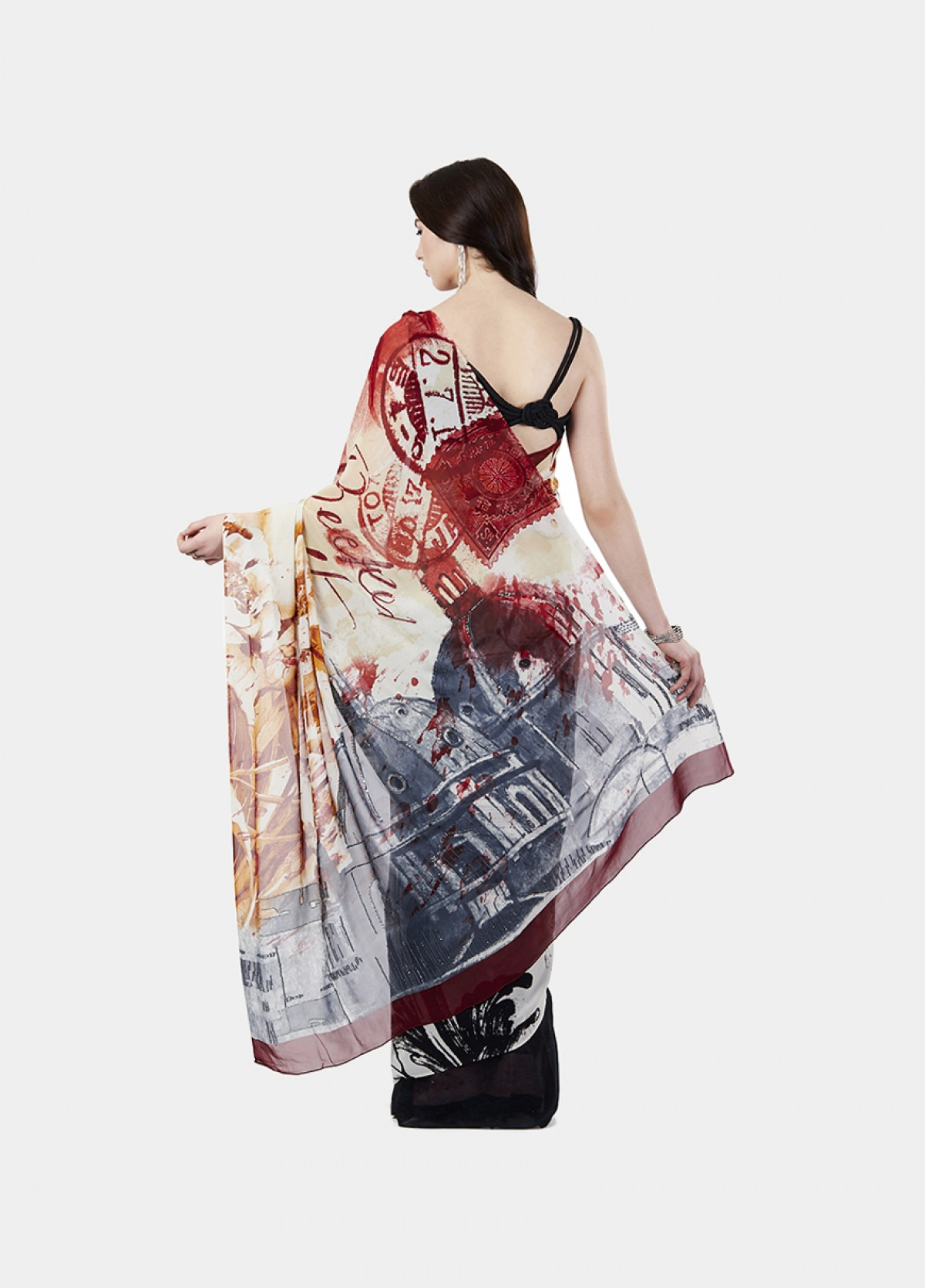 The Vintage Romance Sari