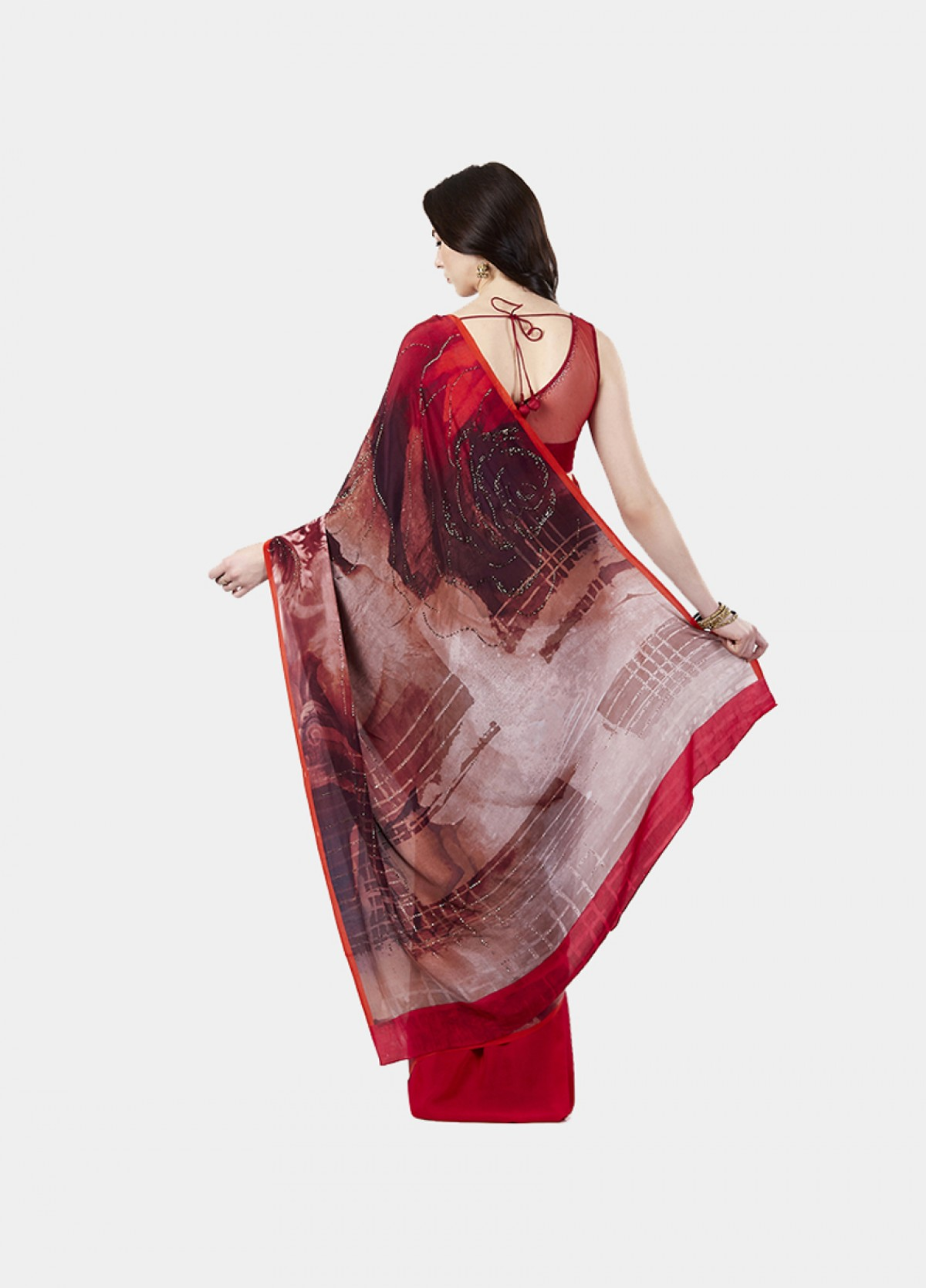 The Deja Vu Sari