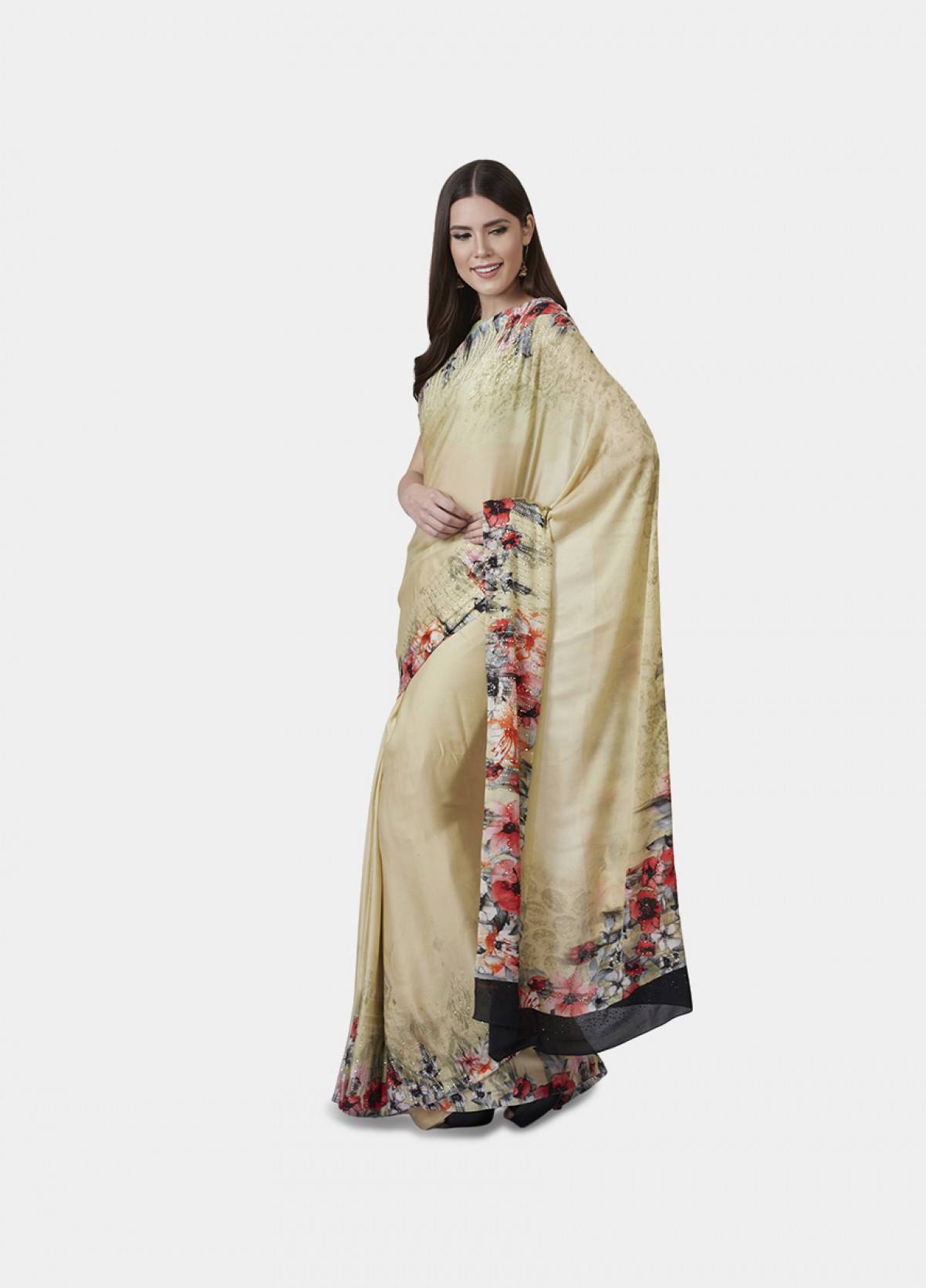 The Periwinkle Sari