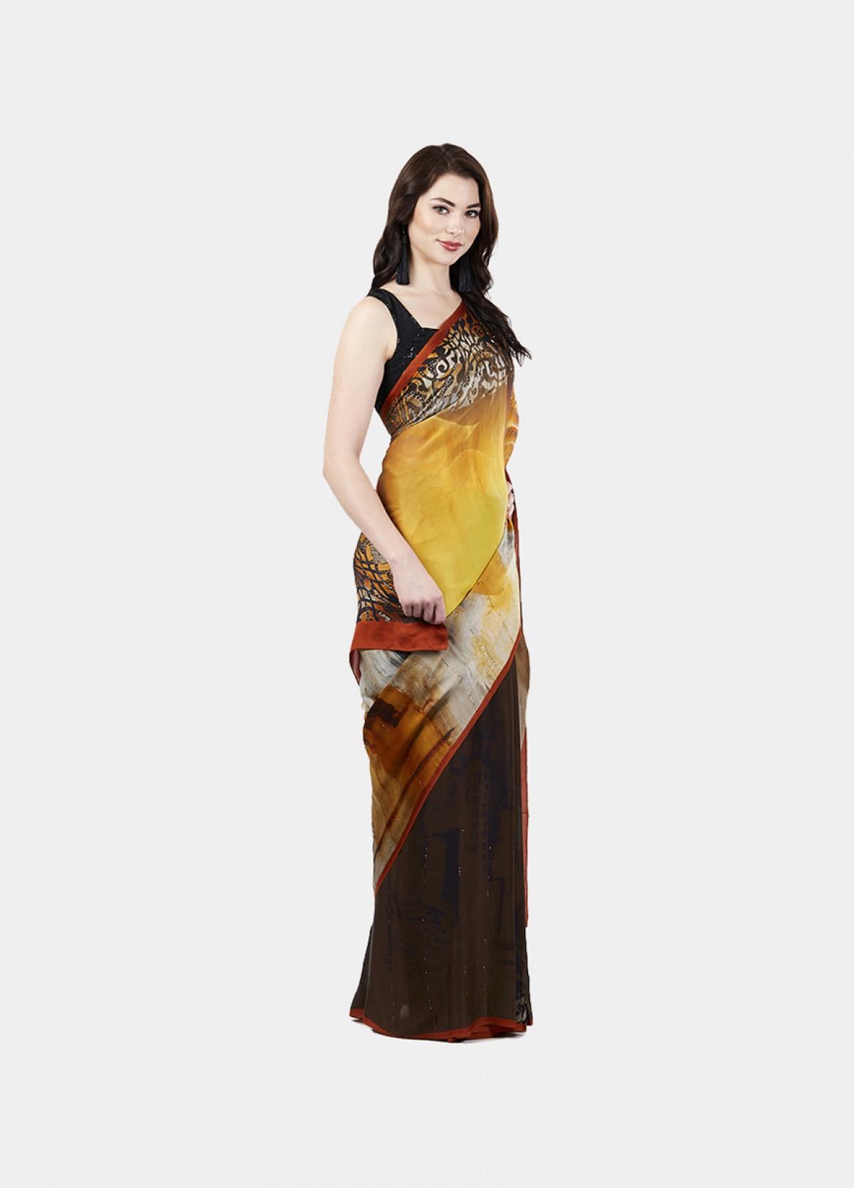 The Skyline Sari